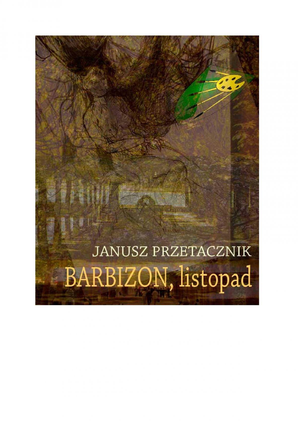Barbizon, listopad - Ebook (Książka EPUB) do pobrania w formacie EPUB