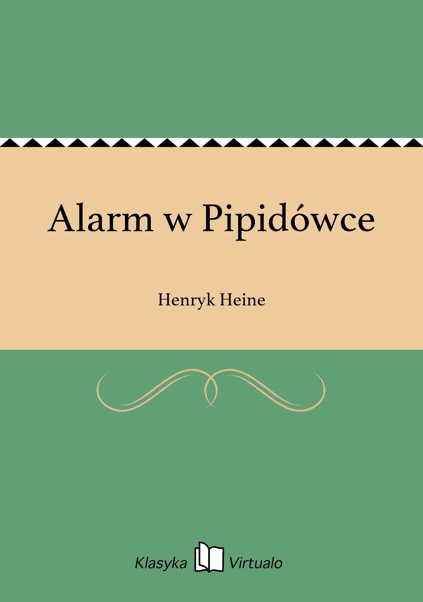 Alarm w Pipidówce - Ebook (Książka EPUB) do pobrania w formacie EPUB