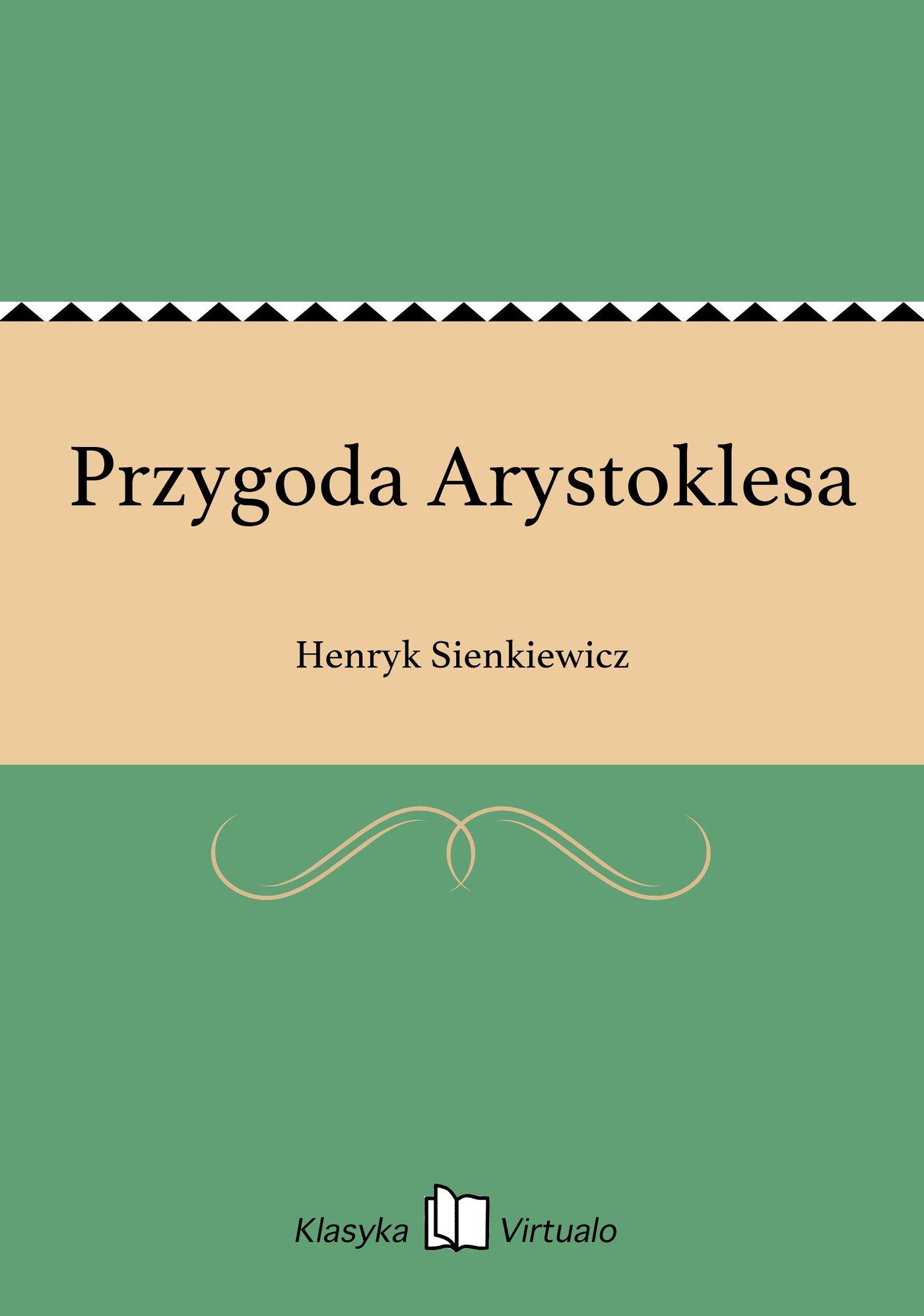 Przygoda Arystoklesa - Ebook (Książka EPUB) do pobrania w formacie EPUB
