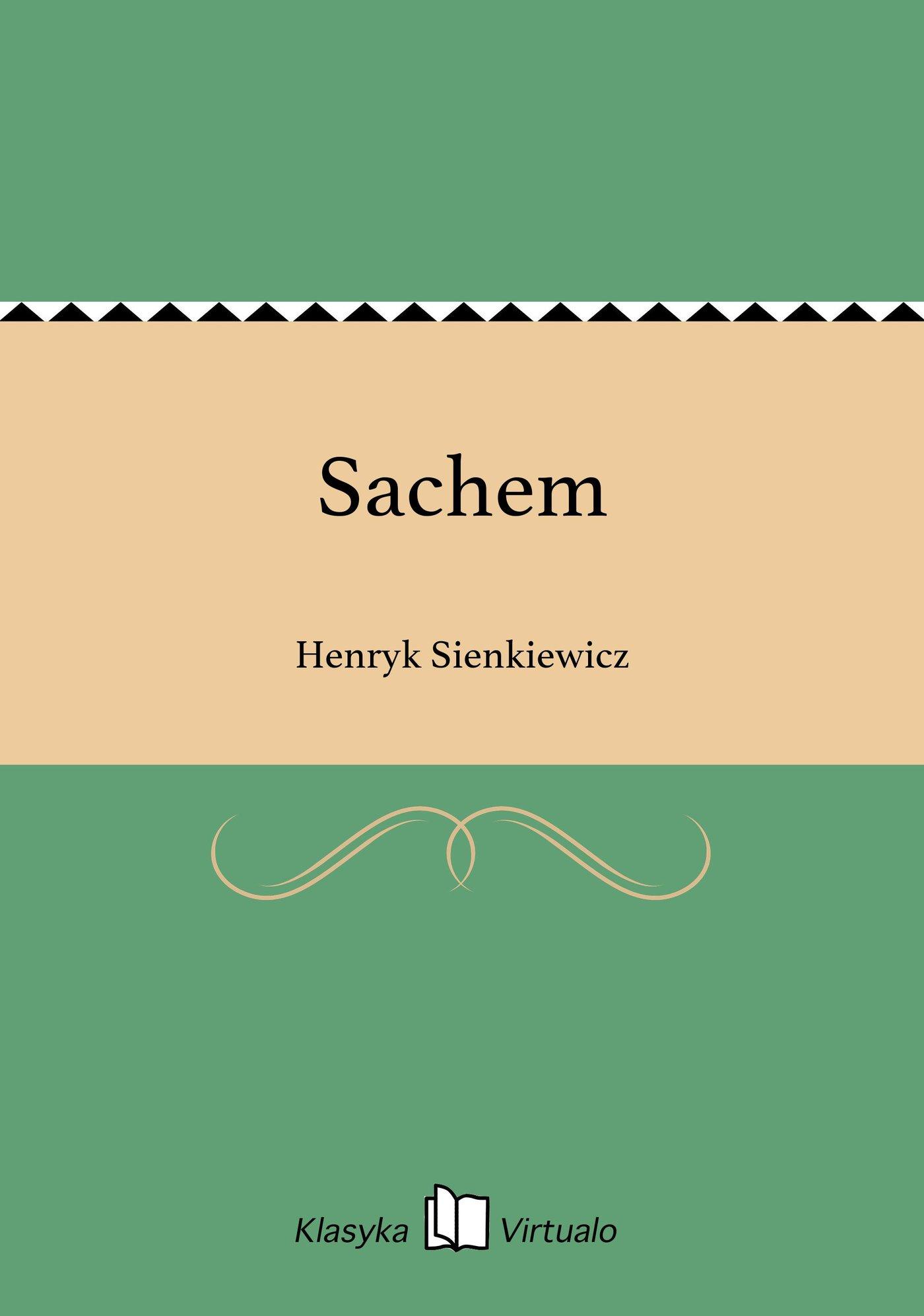 Sachem - Ebook (Książka EPUB) do pobrania w formacie EPUB