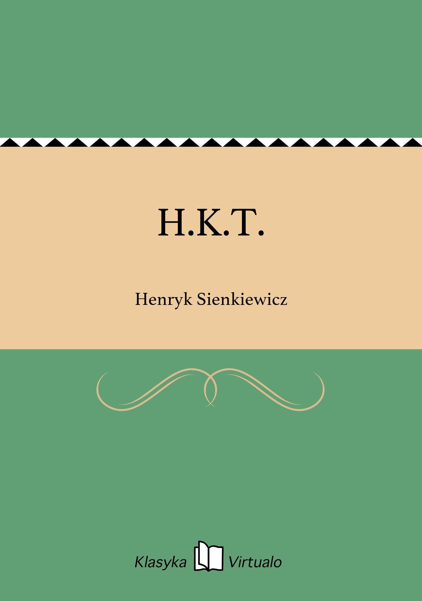 H.K.T. - Ebook (Książka EPUB) do pobrania w formacie EPUB