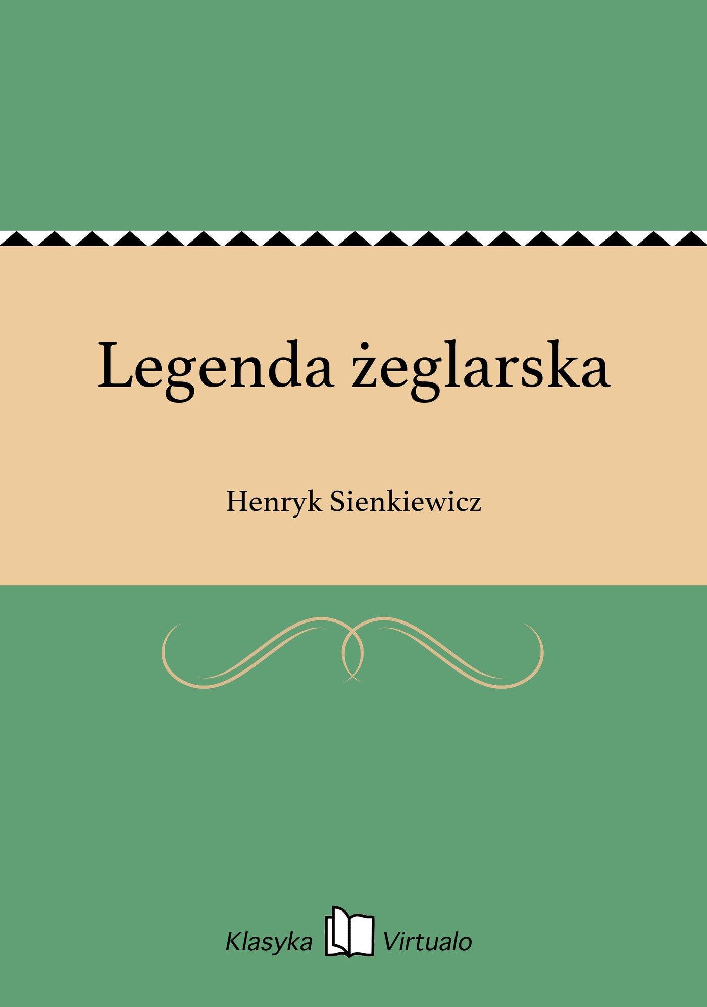 Legenda żeglarska - Ebook (Książka EPUB) do pobrania w formacie EPUB