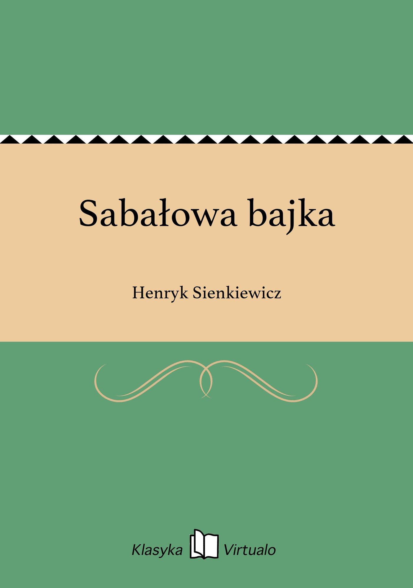 Sabałowa bajka - Ebook (Książka EPUB) do pobrania w formacie EPUB