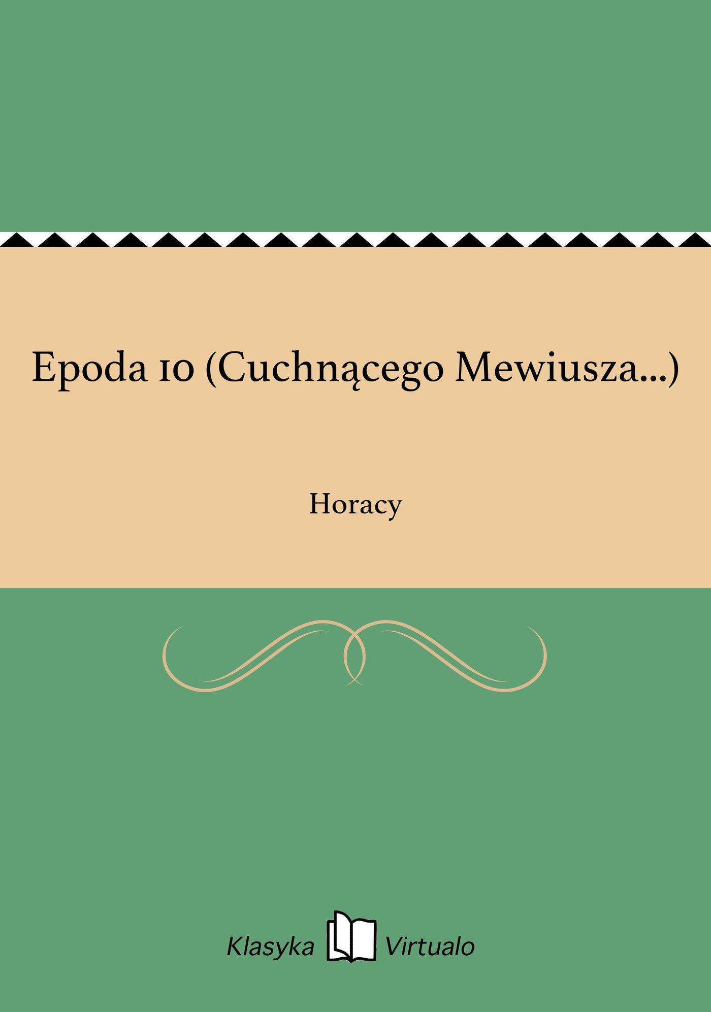 Epoda 10 (Cuchnącego Mewiusza...) - Ebook (Książka EPUB) do pobrania w formacie EPUB