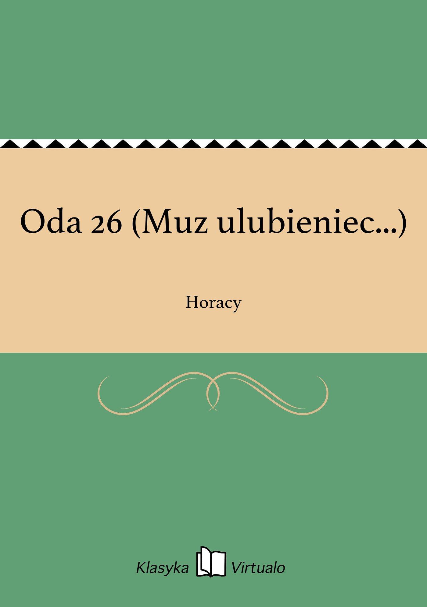 Oda 26 (Muz ulubieniec...) - Ebook (Książka EPUB) do pobrania w formacie EPUB