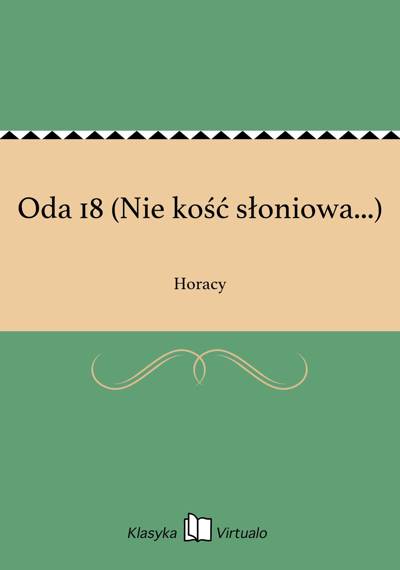 Oda 18 (Nie kość słoniowa...) - Ebook (Książka EPUB) do pobrania w formacie EPUB