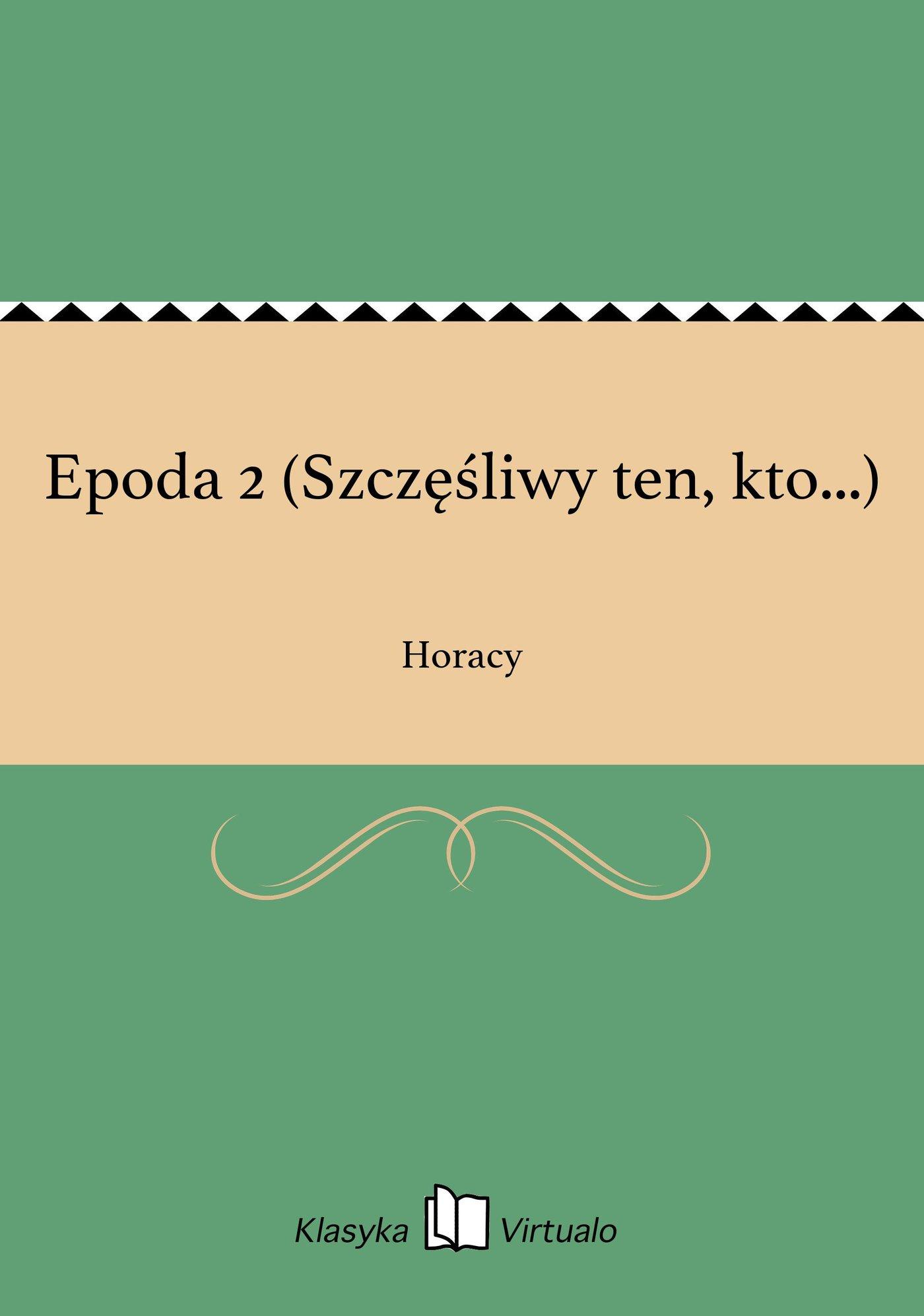 Epoda 2 (Szczęśliwy ten, kto...) - Ebook (Książka EPUB) do pobrania w formacie EPUB