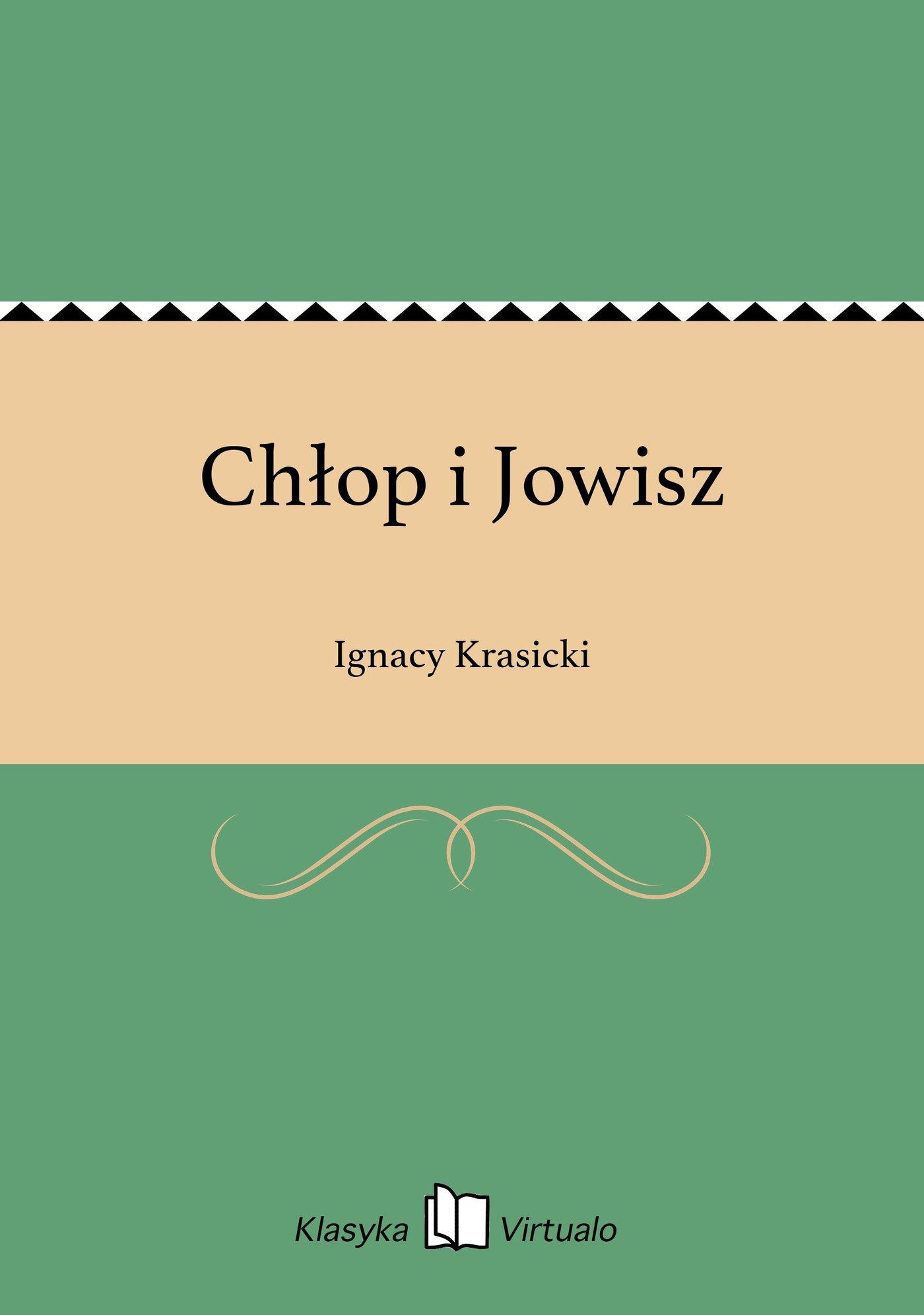 Chłop i Jowisz - Ebook (Książka EPUB) do pobrania w formacie EPUB