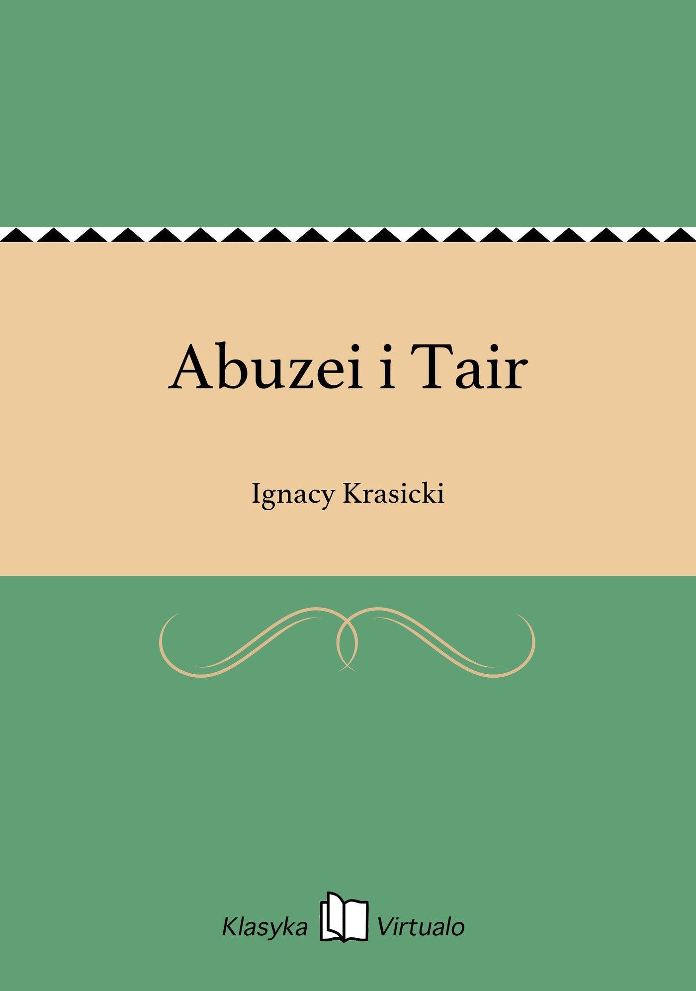 Abuzei i Tair - Ebook (Książka EPUB) do pobrania w formacie EPUB