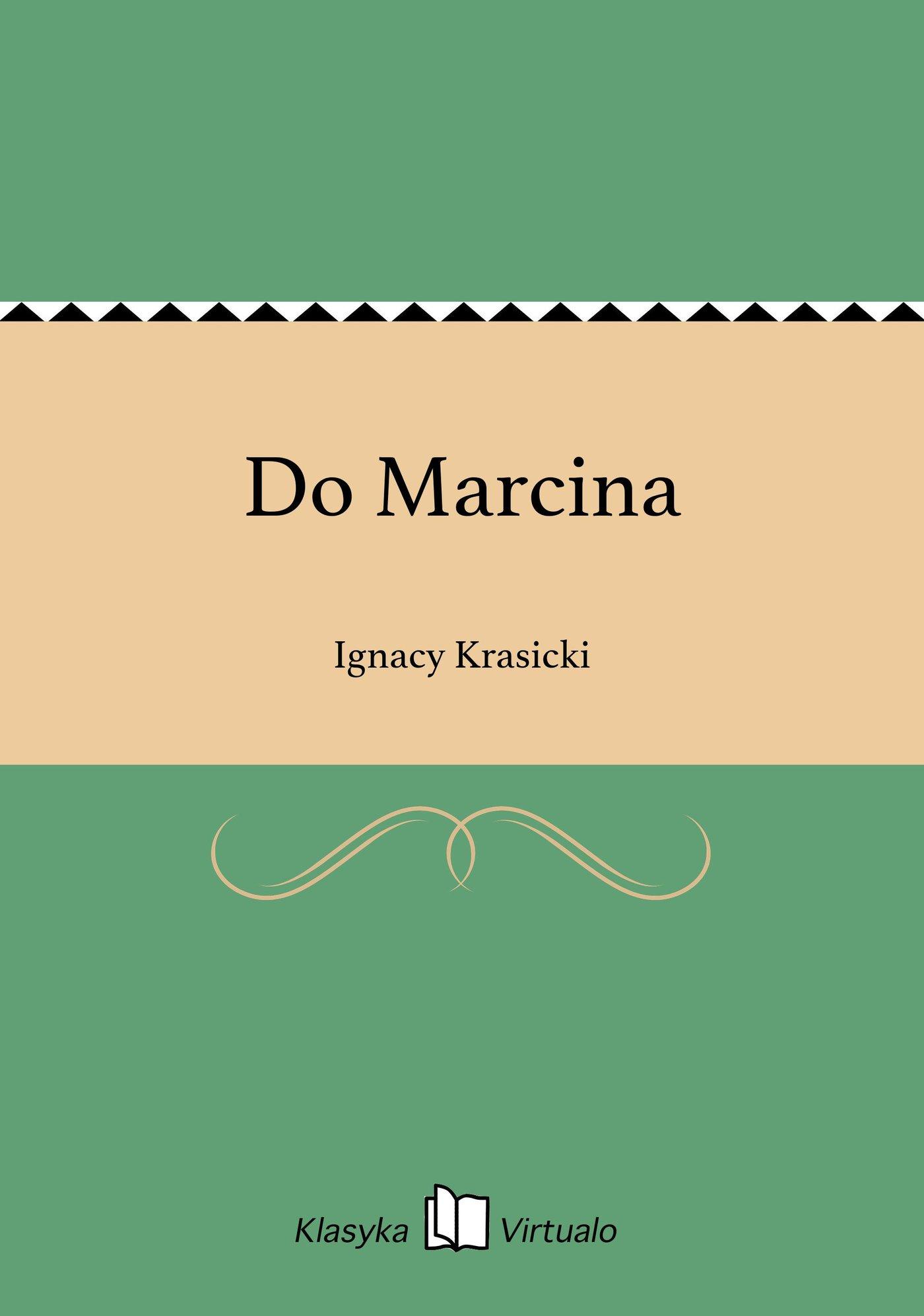 Do Marcina - Ebook (Książka EPUB) do pobrania w formacie EPUB