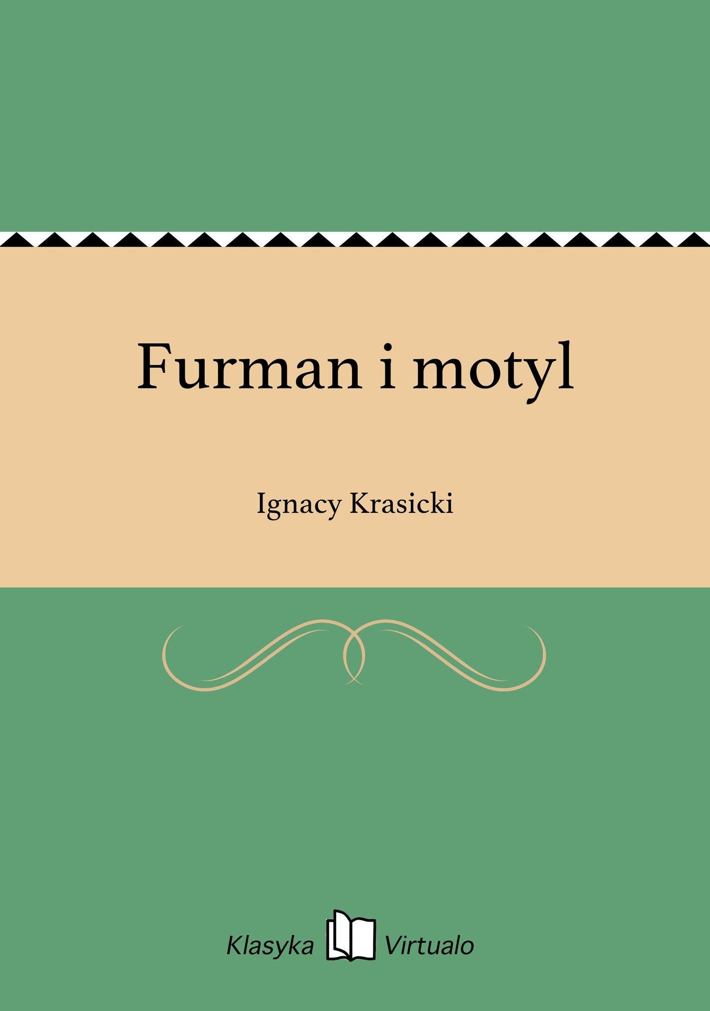 Furman i motyl - Ebook (Książka EPUB) do pobrania w formacie EPUB