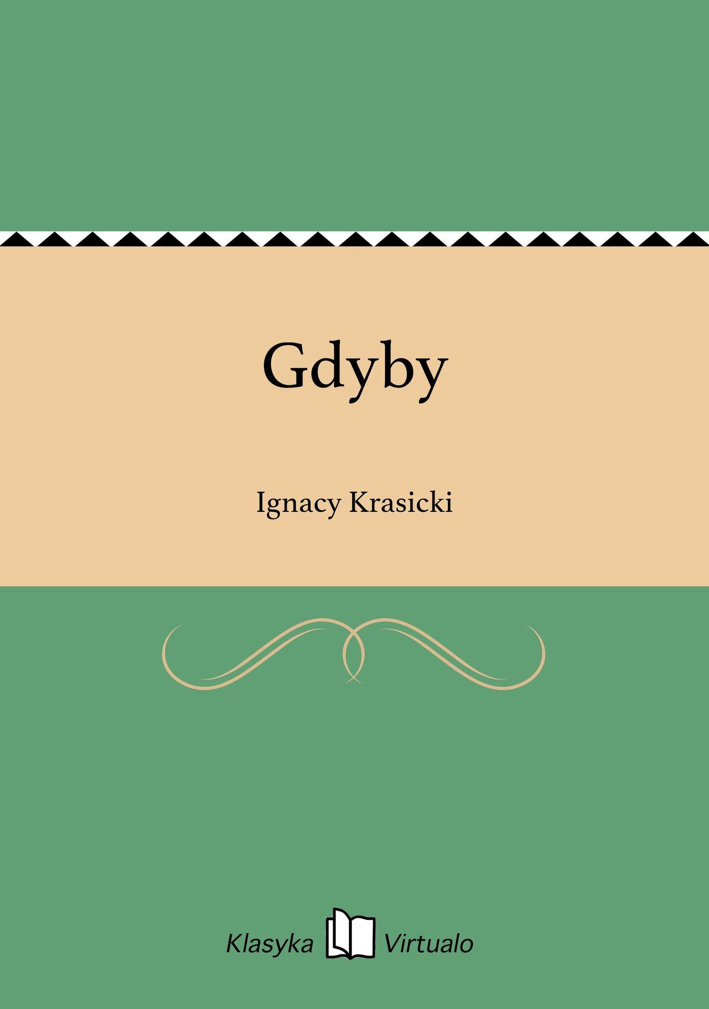 Gdyby - Ebook (Książka EPUB) do pobrania w formacie EPUB