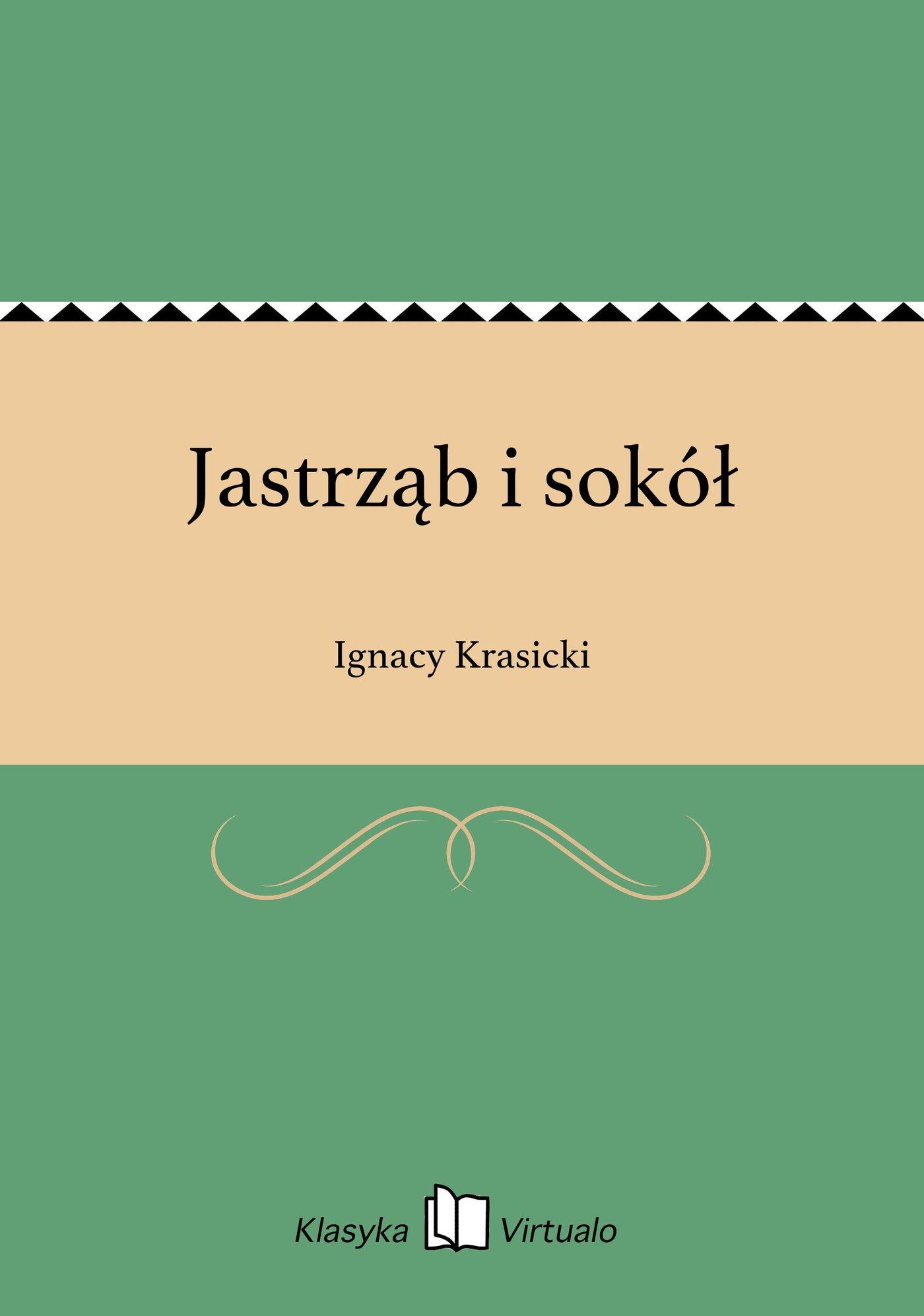 Jastrząb i sokół - Ebook (Książka EPUB) do pobrania w formacie EPUB
