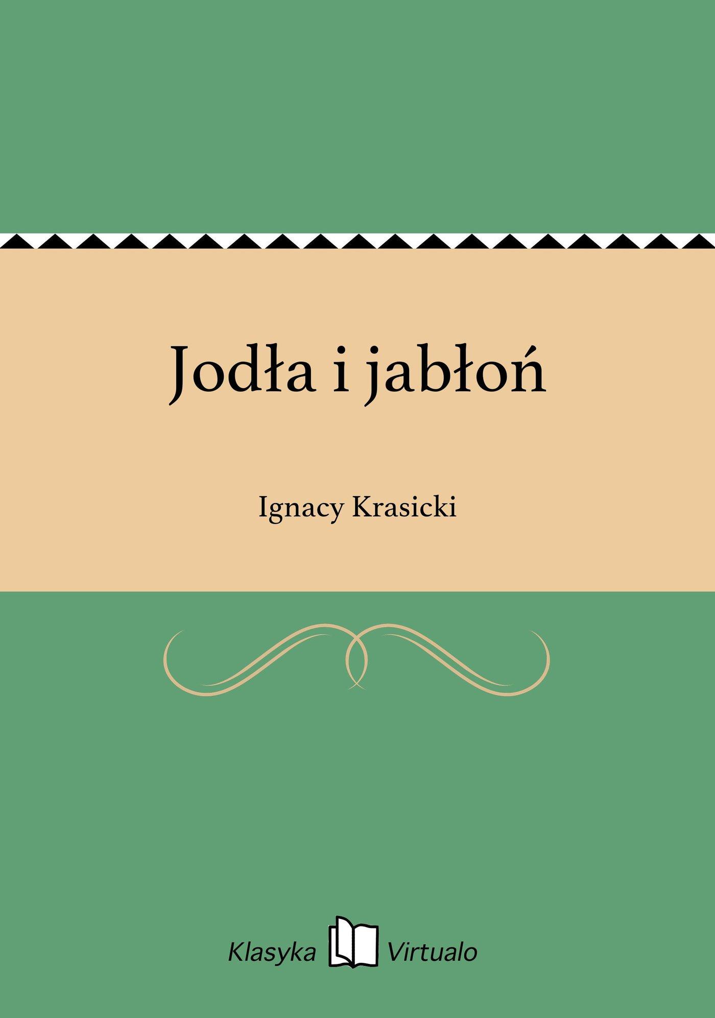 Jodła i jabłoń - Ebook (Książka EPUB) do pobrania w formacie EPUB