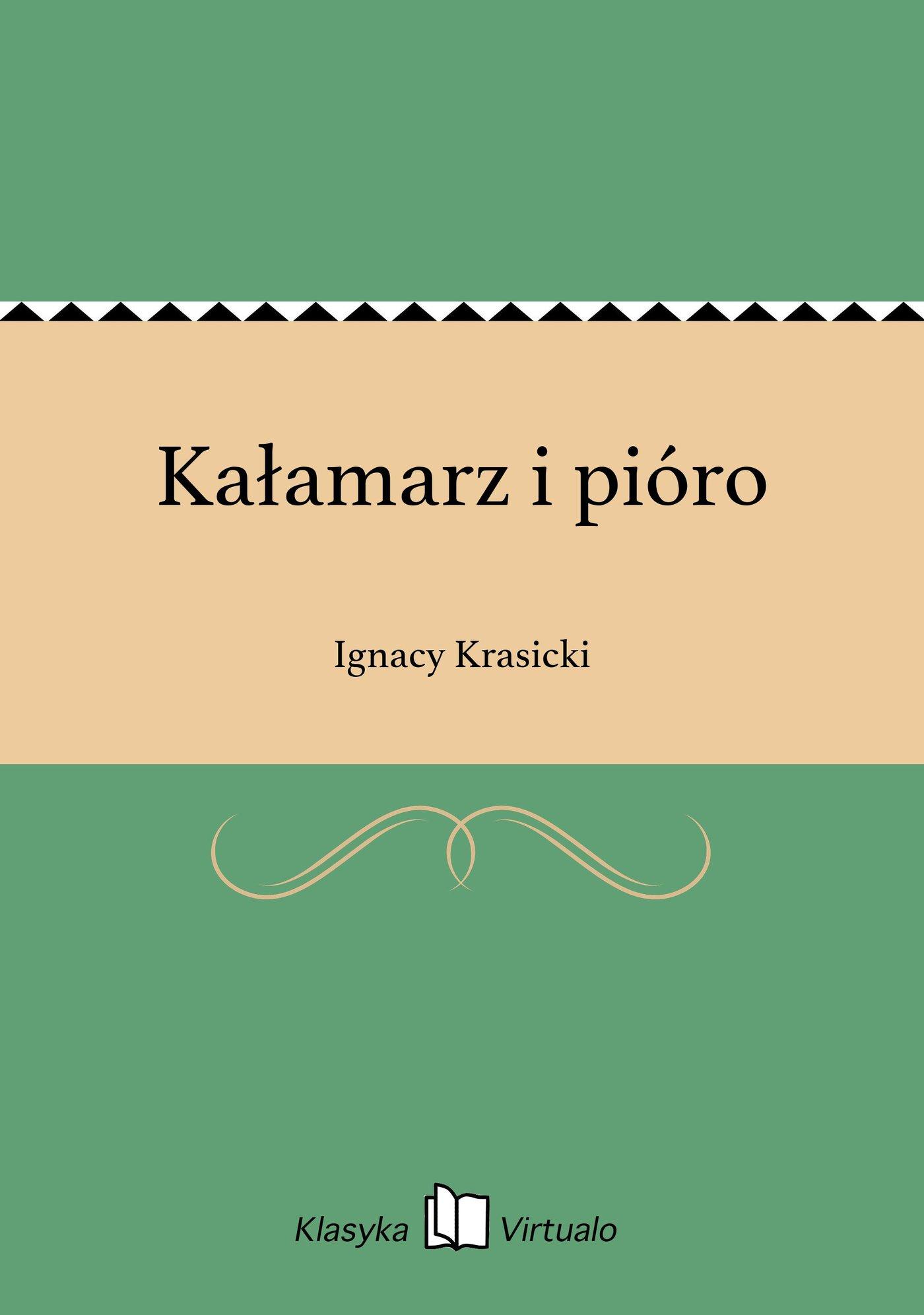 Kałamarz i pióro - Ebook (Książka EPUB) do pobrania w formacie EPUB
