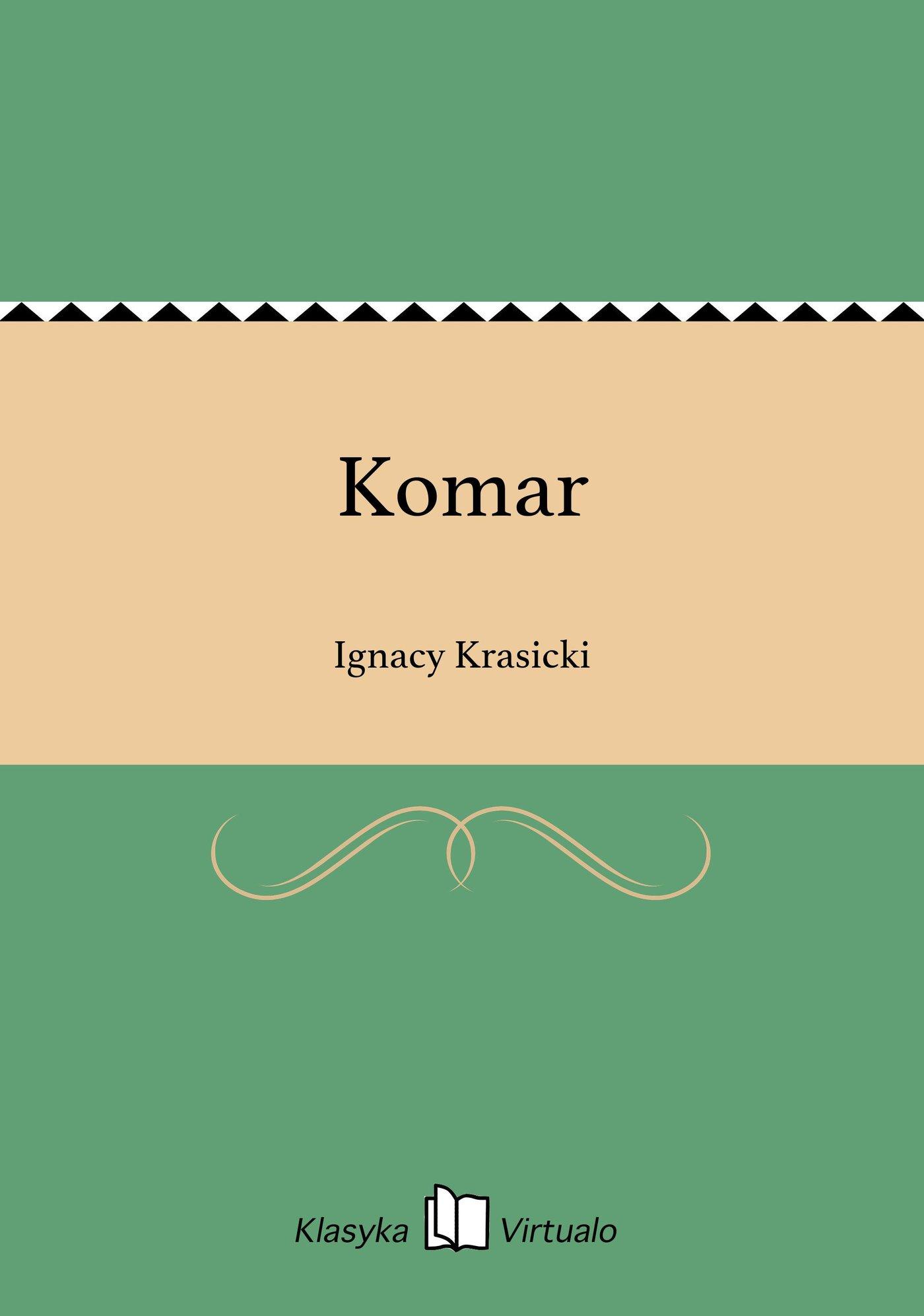 Komar - Ebook (Książka EPUB) do pobrania w formacie EPUB
