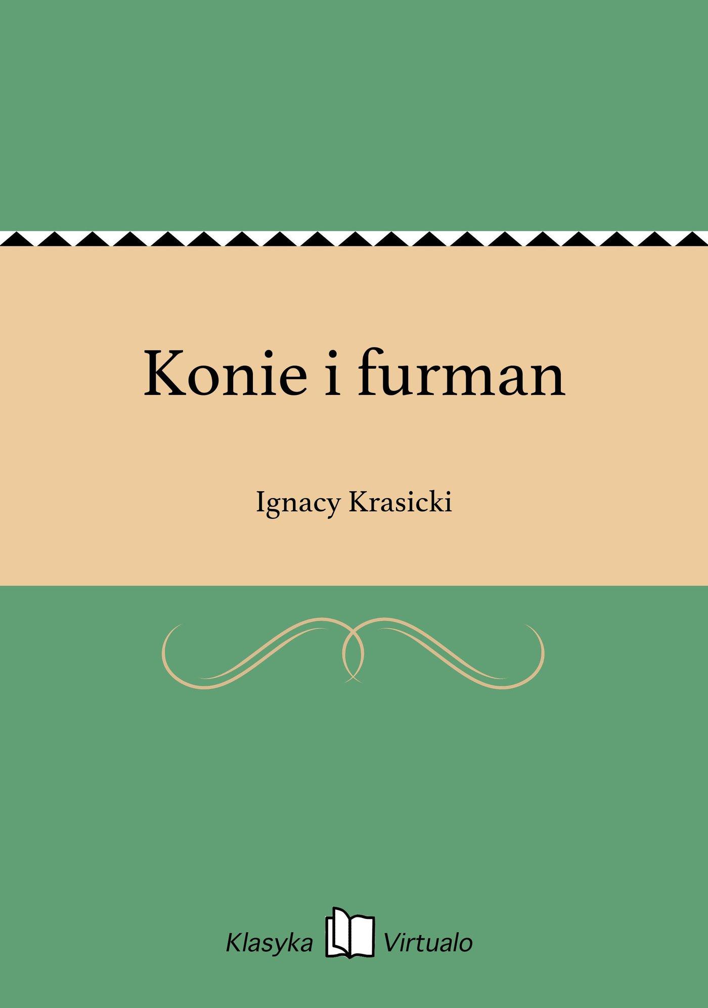 Konie i furman - Ebook (Książka EPUB) do pobrania w formacie EPUB