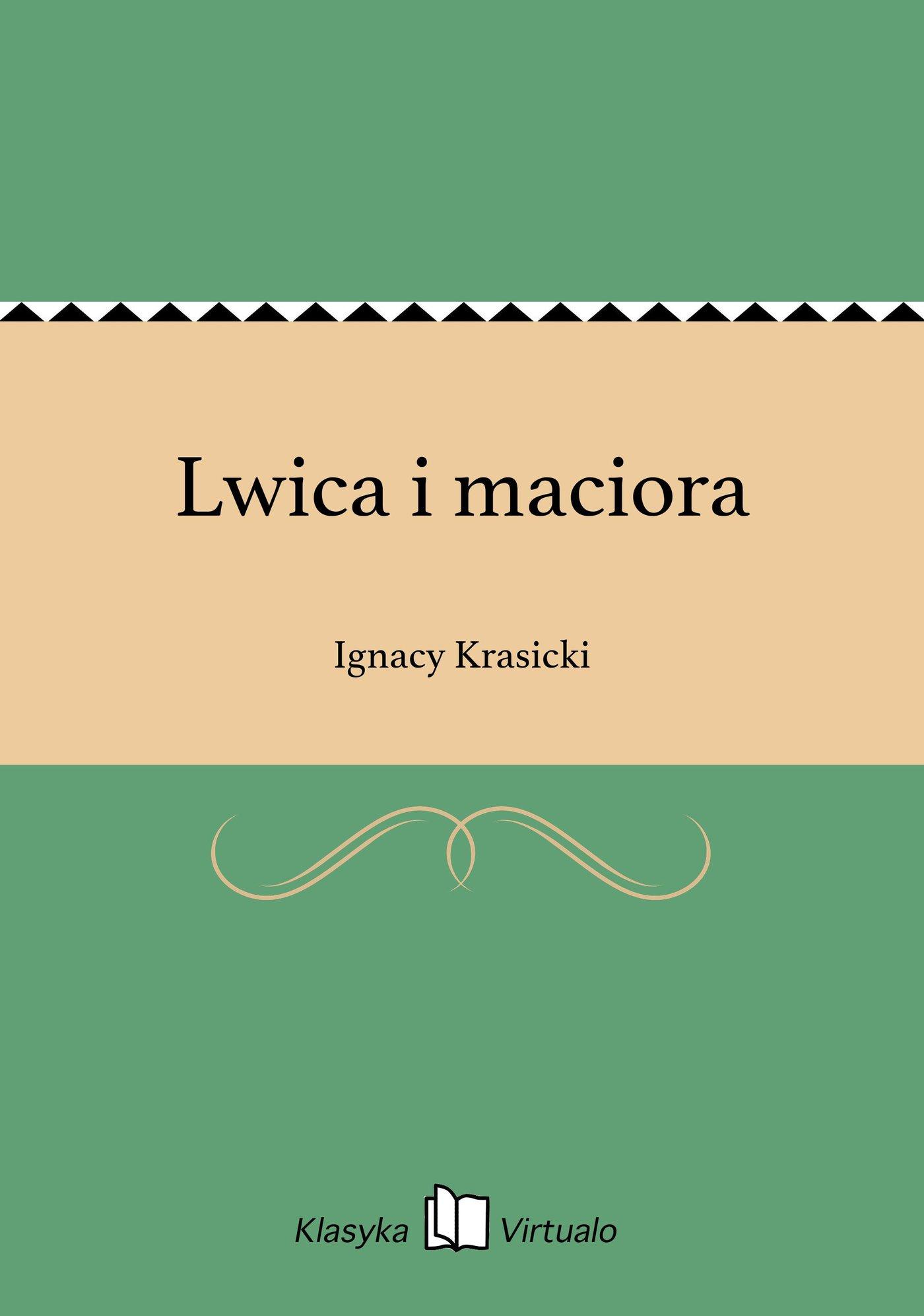Lwica i maciora - Ebook (Książka EPUB) do pobrania w formacie EPUB