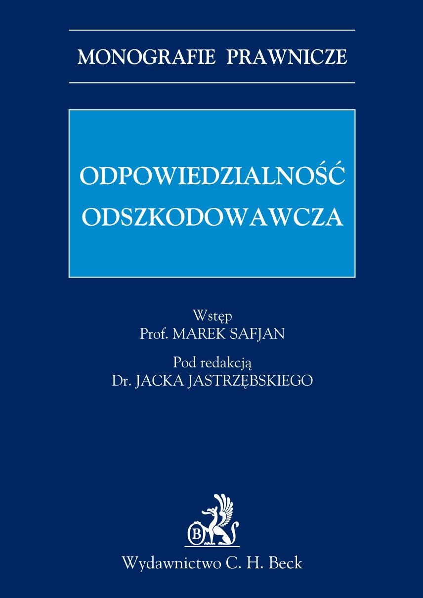 Odpowiedzialność odszkodowawcza - Ebook (Książka PDF) do pobrania w formacie PDF