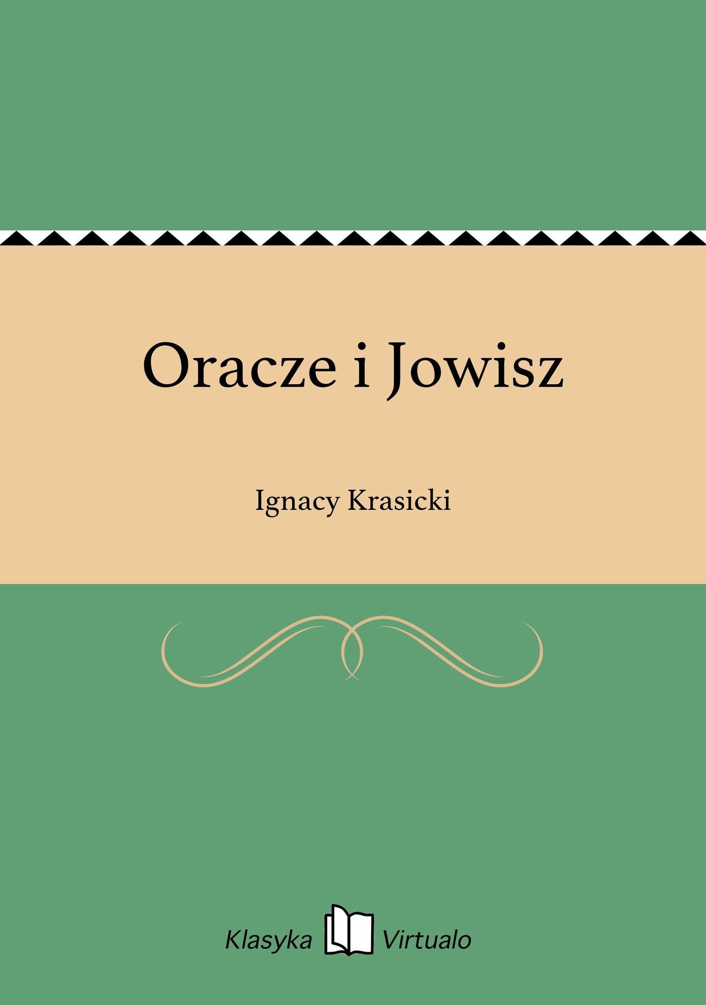 Oracze i Jowisz - Ebook (Książka EPUB) do pobrania w formacie EPUB