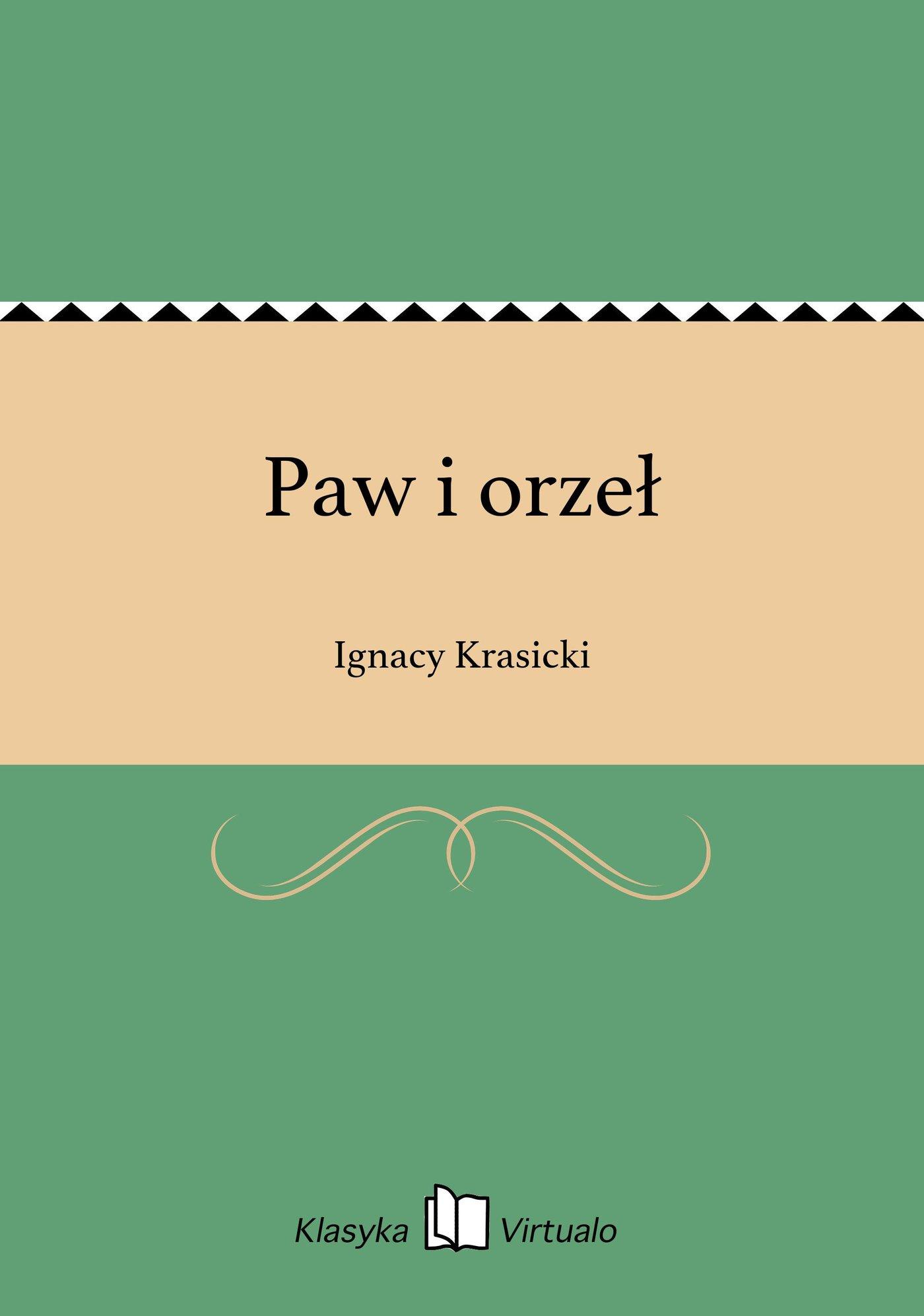 Paw i orzeł - Ebook (Książka EPUB) do pobrania w formacie EPUB
