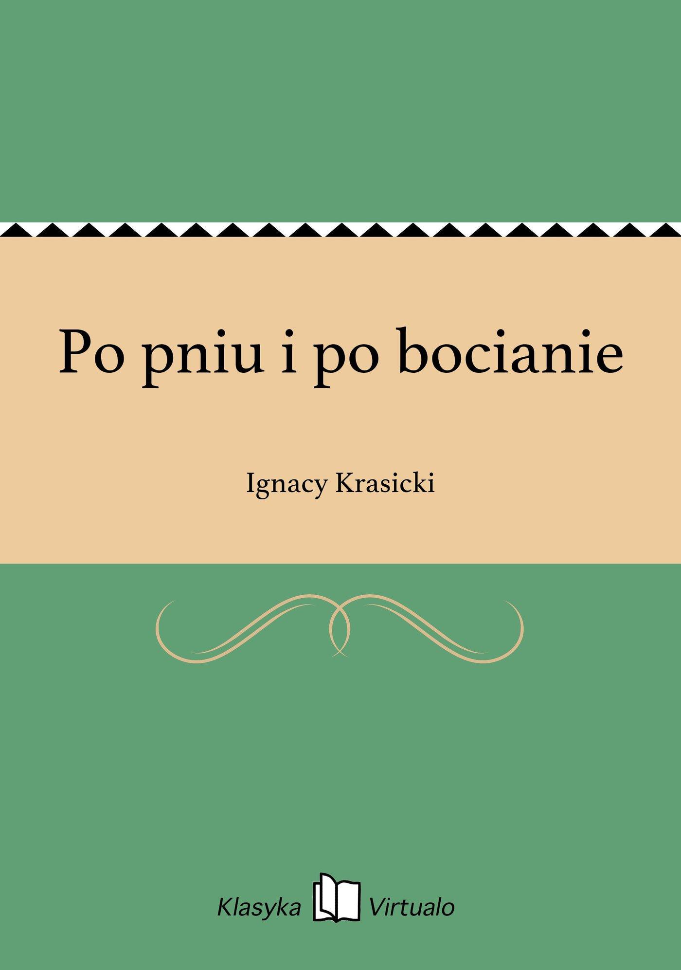 Po pniu i po bocianie - Ebook (Książka EPUB) do pobrania w formacie EPUB