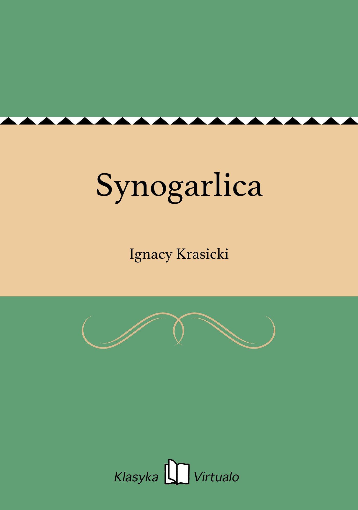 Synogarlica - Ebook (Książka EPUB) do pobrania w formacie EPUB