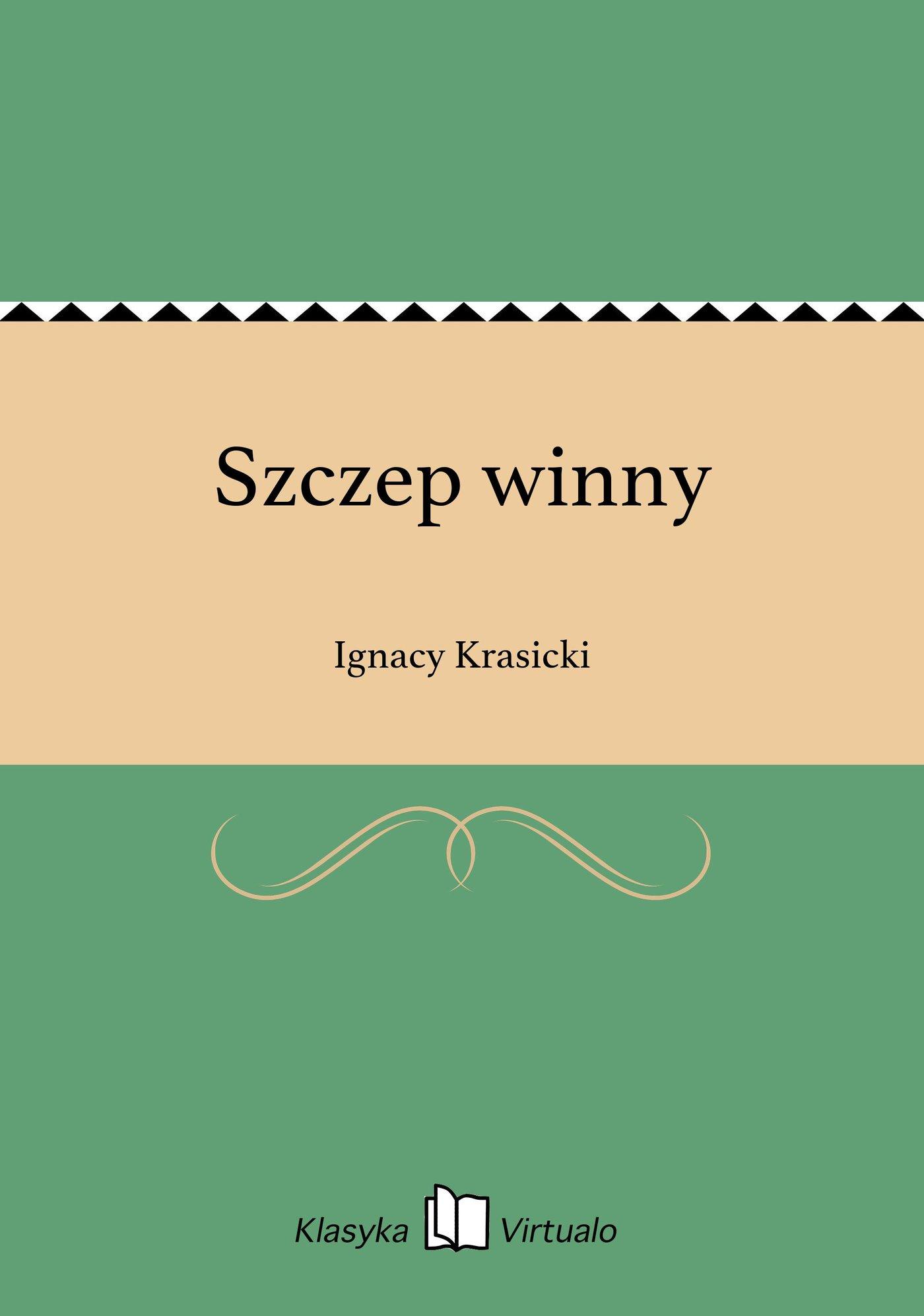 Szczep winny - Ebook (Książka EPUB) do pobrania w formacie EPUB