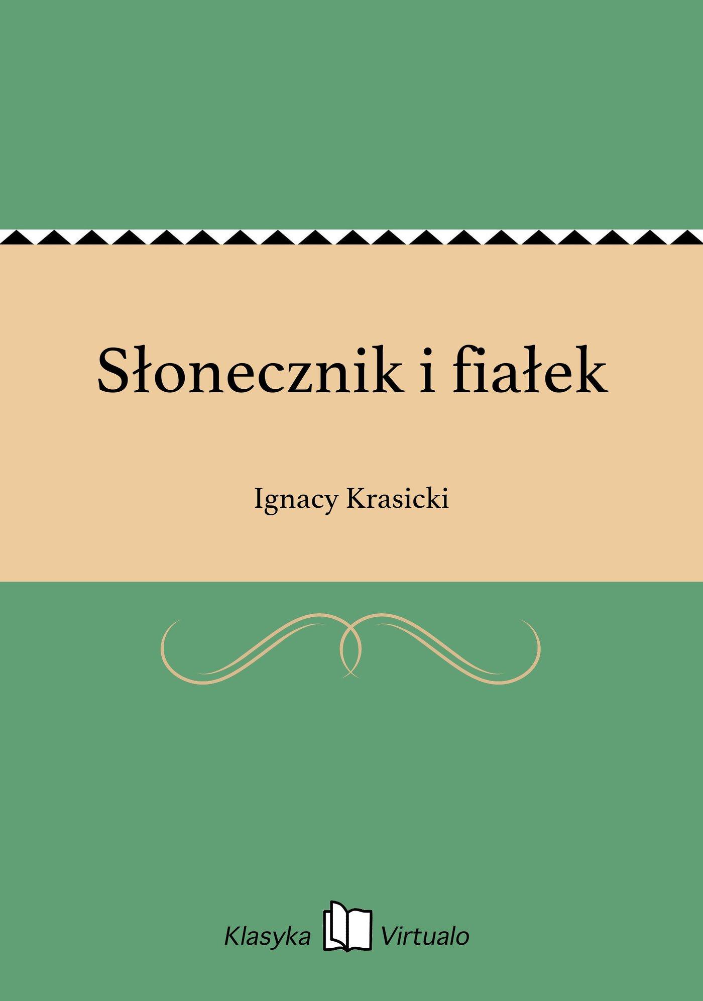 Słonecznik i fiałek - Ebook (Książka EPUB) do pobrania w formacie EPUB