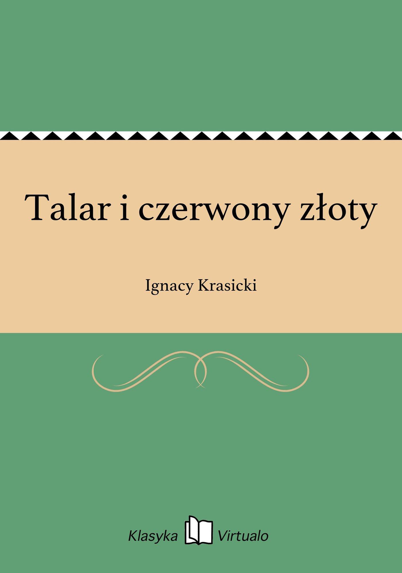 Talar i czerwony złoty - Ebook (Książka EPUB) do pobrania w formacie EPUB