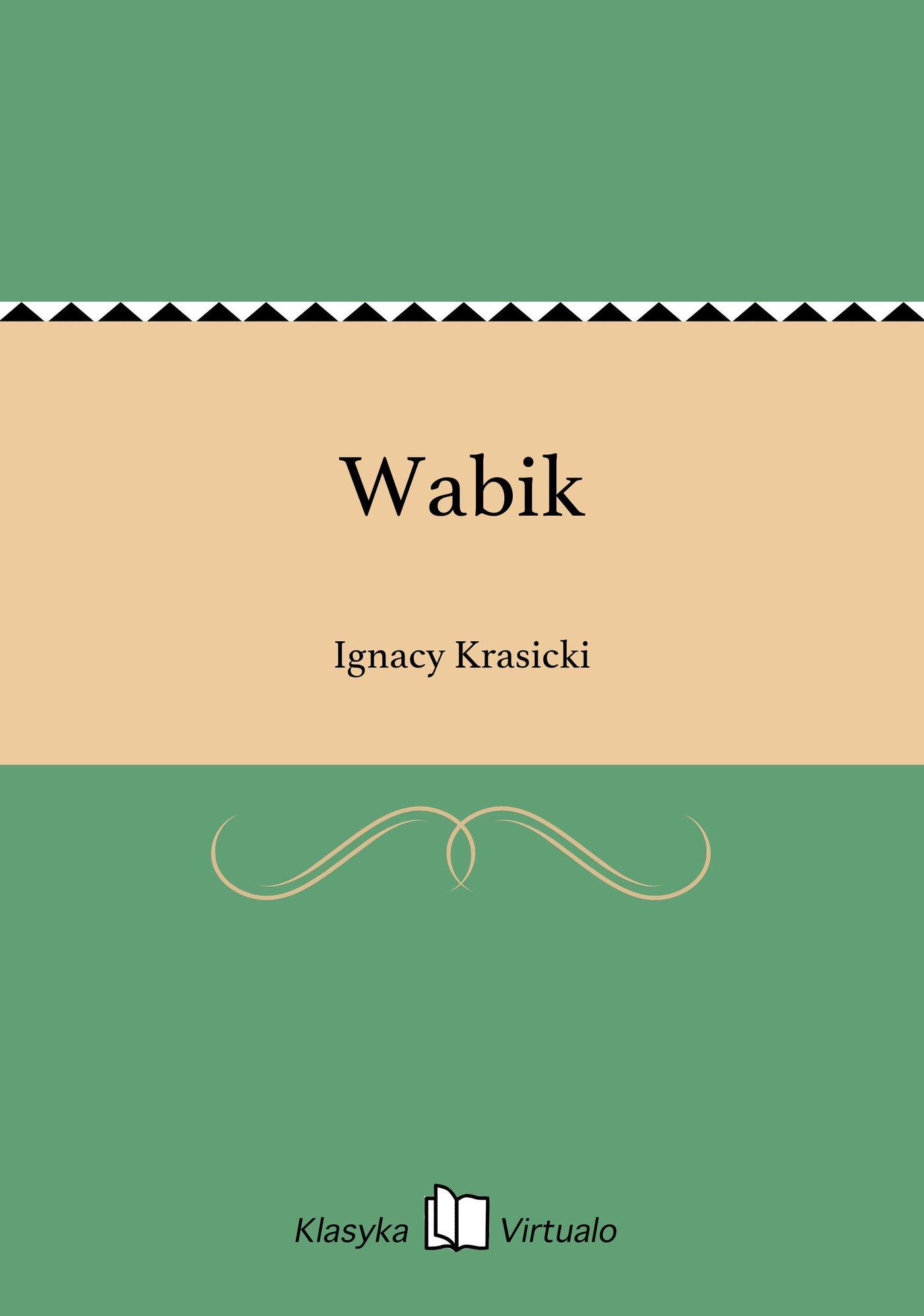 Wabik - Ebook (Książka EPUB) do pobrania w formacie EPUB