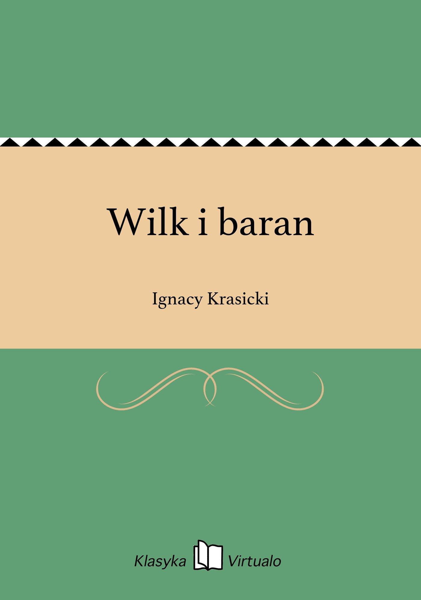 Wilk i baran - Ebook (Książka EPUB) do pobrania w formacie EPUB