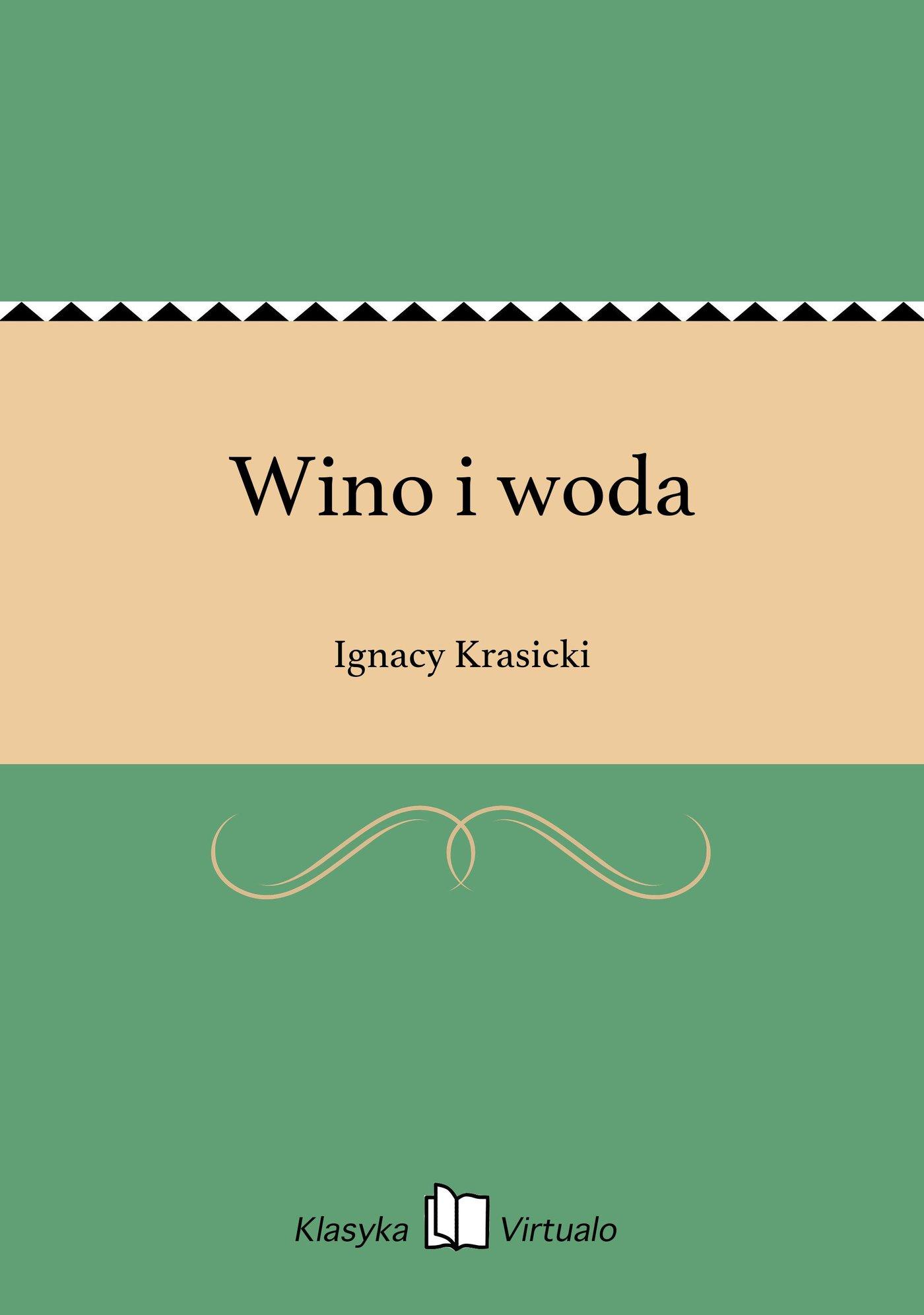 Wino i woda - Ebook (Książka EPUB) do pobrania w formacie EPUB