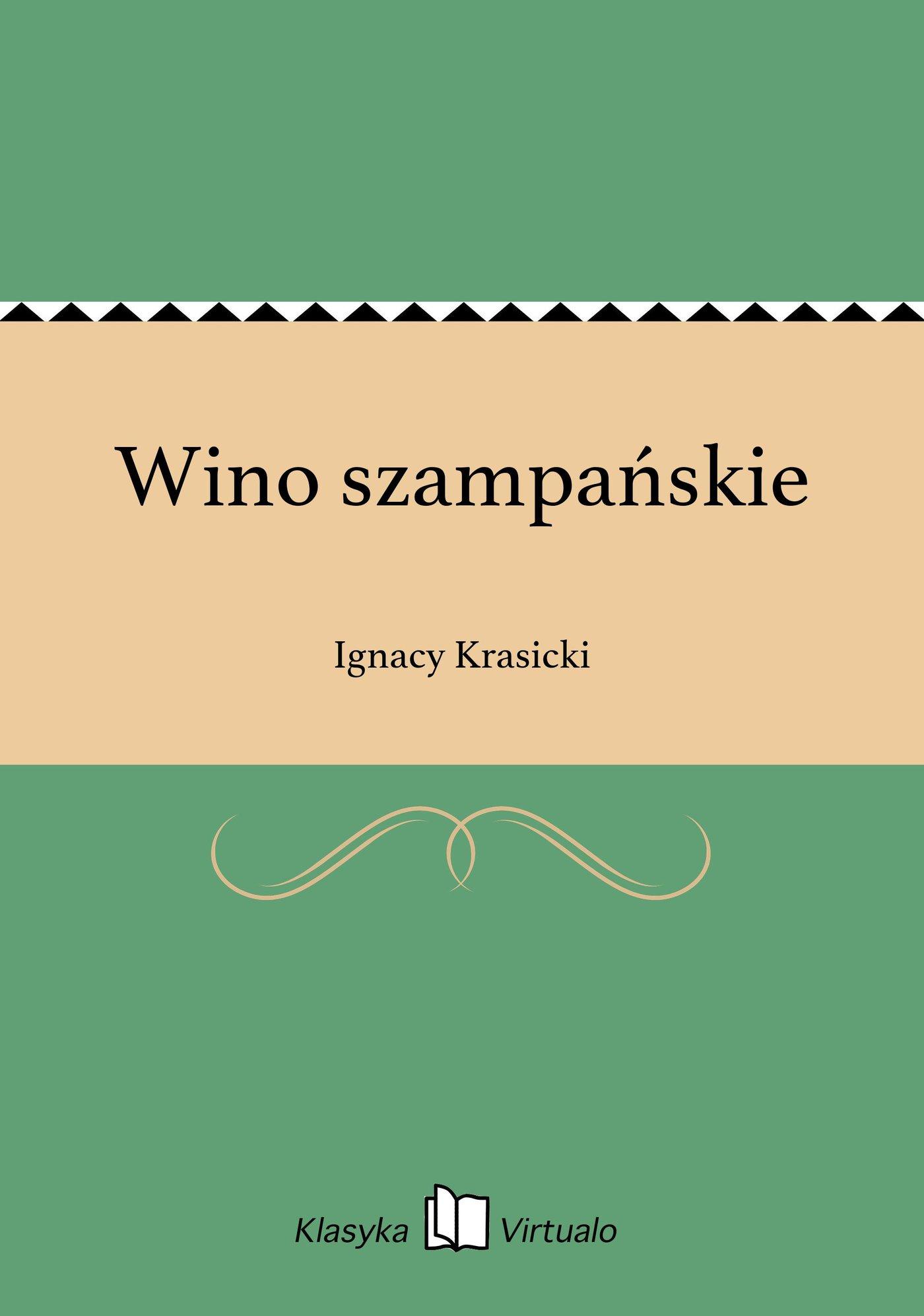 Wino szampańskie - Ebook (Książka EPUB) do pobrania w formacie EPUB
