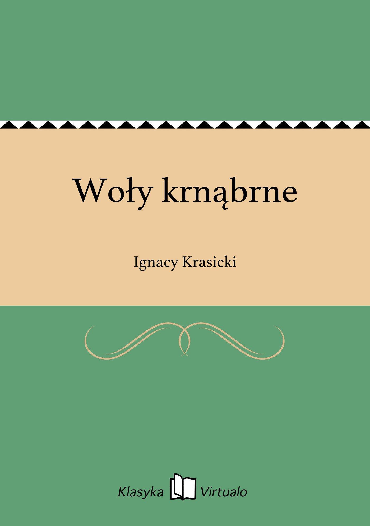 Woły krnąbrne - Ebook (Książka EPUB) do pobrania w formacie EPUB