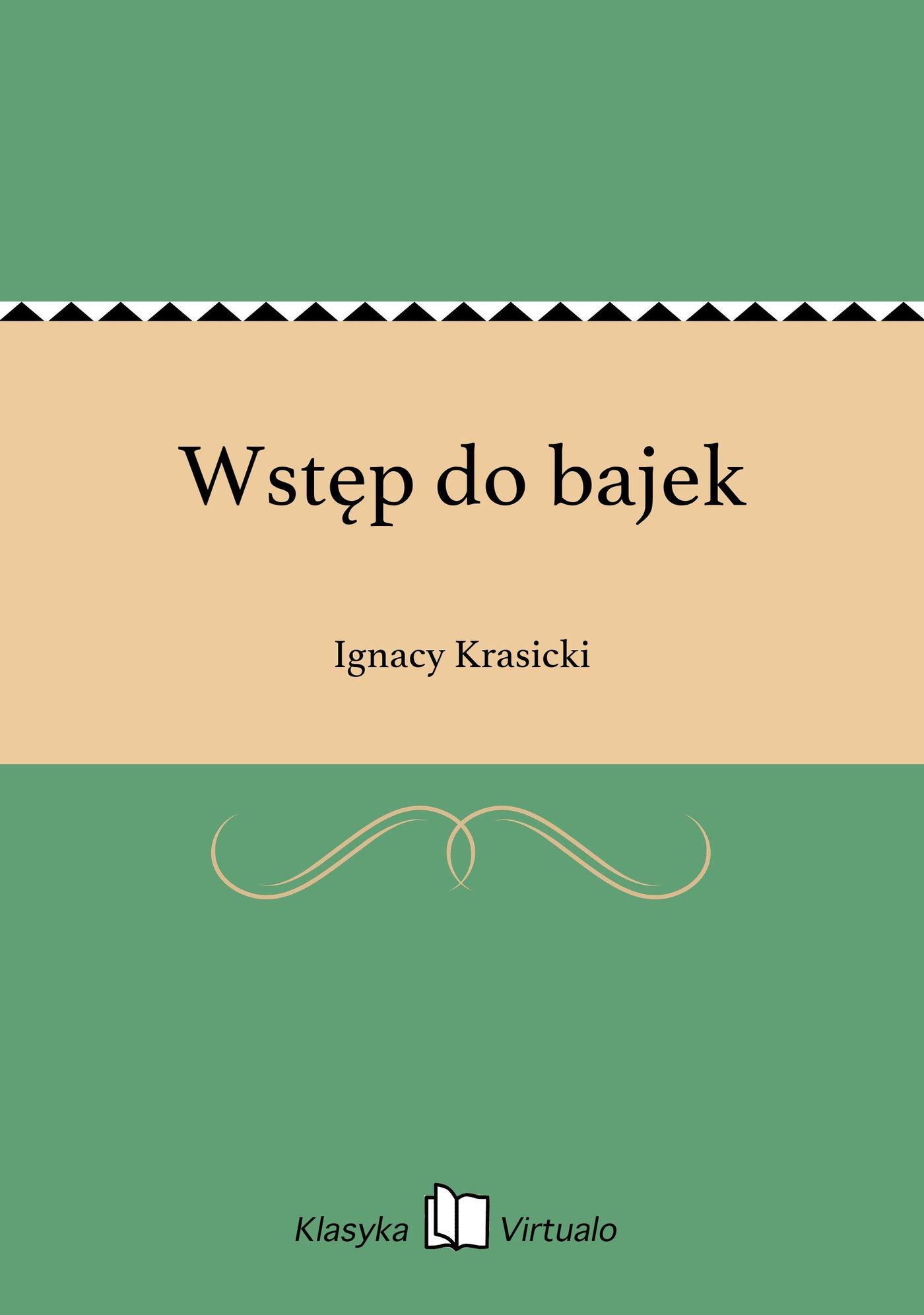 Wstęp do bajek - Ebook (Książka EPUB) do pobrania w formacie EPUB