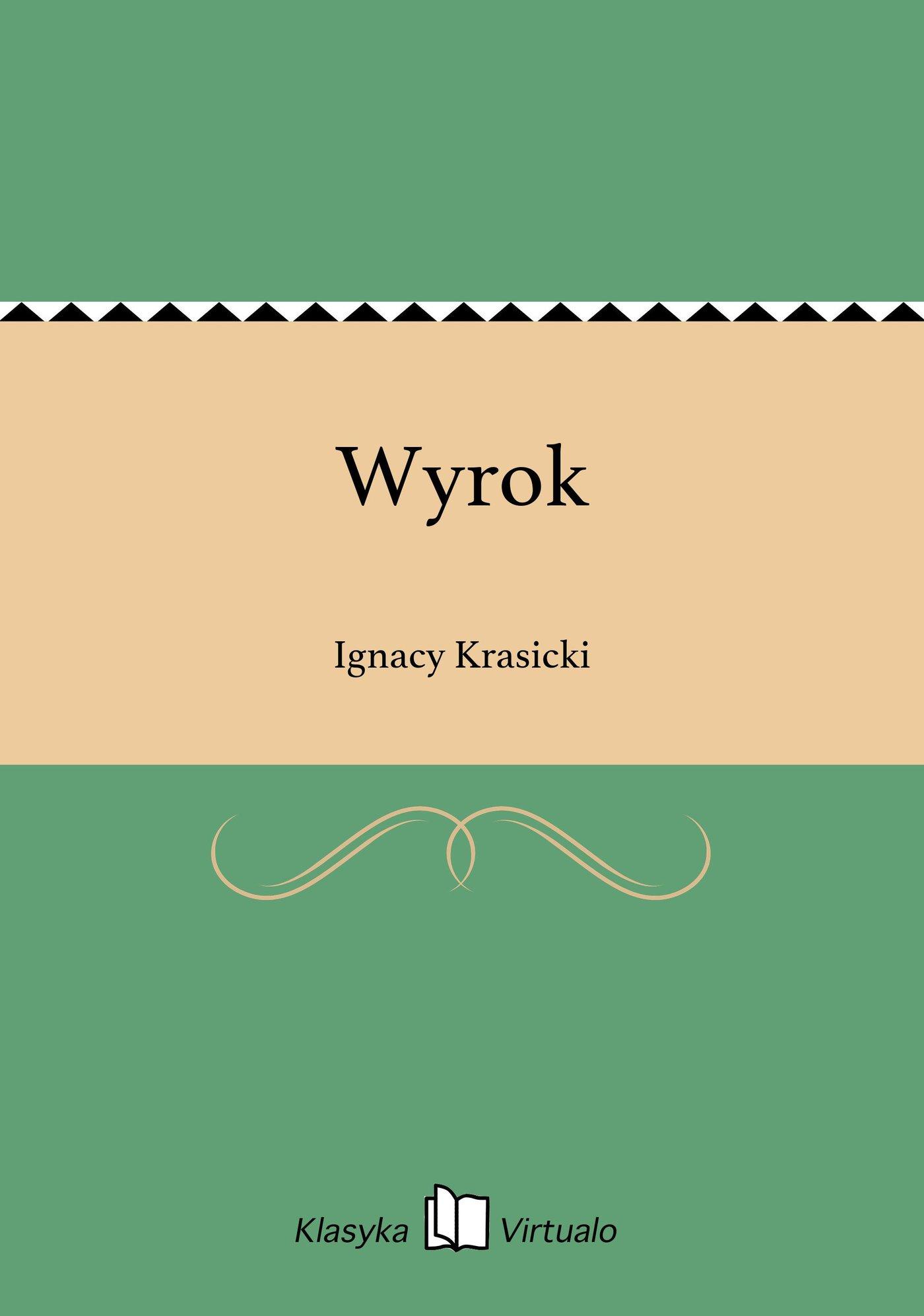 Wyrok - Ebook (Książka EPUB) do pobrania w formacie EPUB