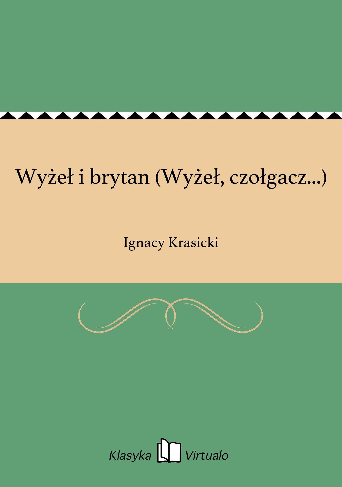 Wyżeł i brytan (Wyżeł, czołgacz...) - Ebook (Książka EPUB) do pobrania w formacie EPUB