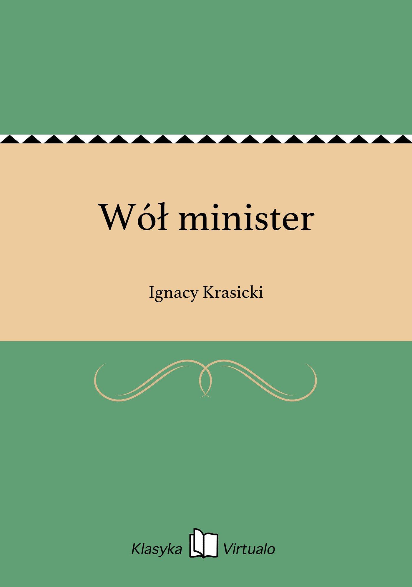 Wół minister - Ebook (Książka EPUB) do pobrania w formacie EPUB