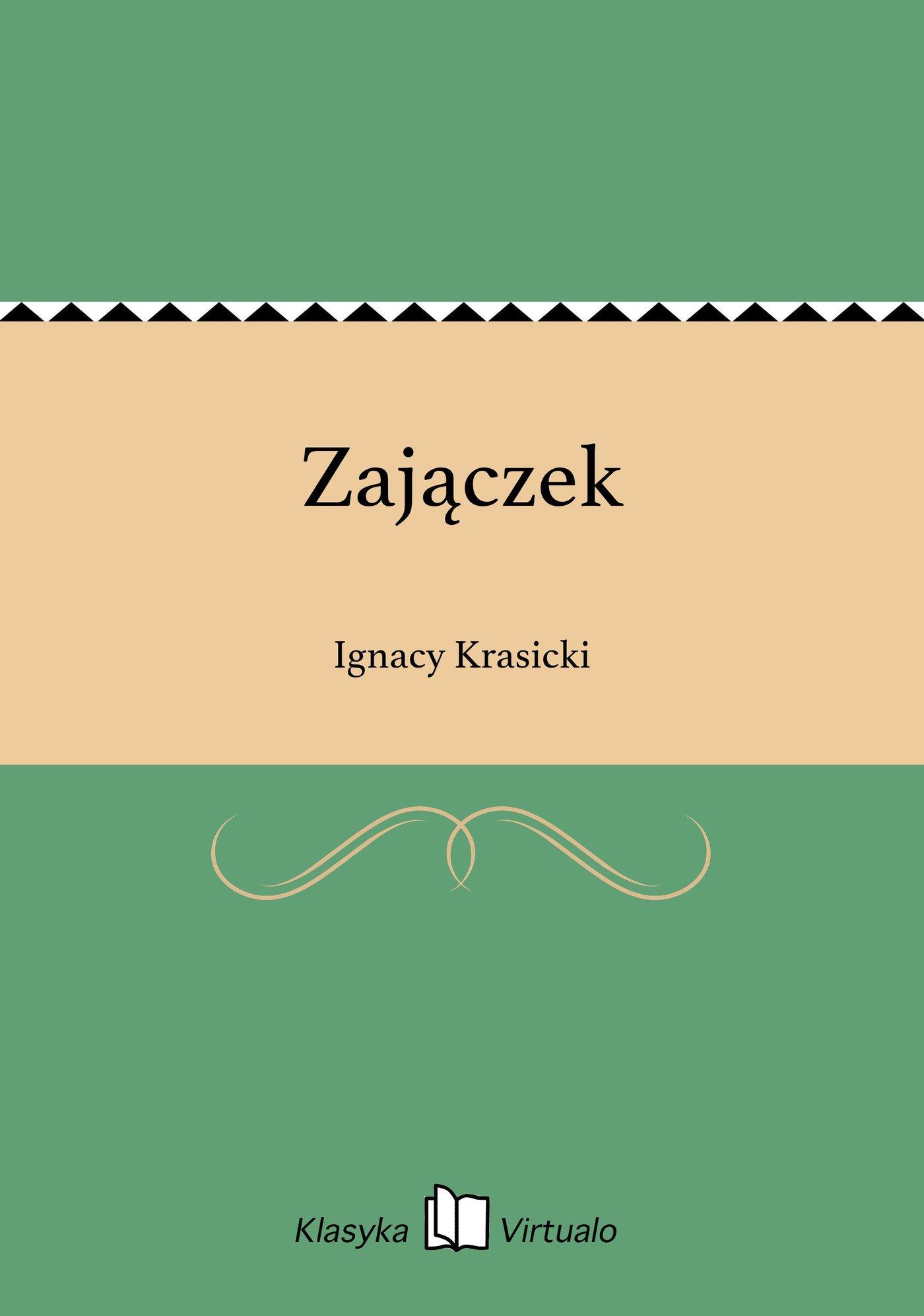 Zajączek - Ebook (Książka EPUB) do pobrania w formacie EPUB