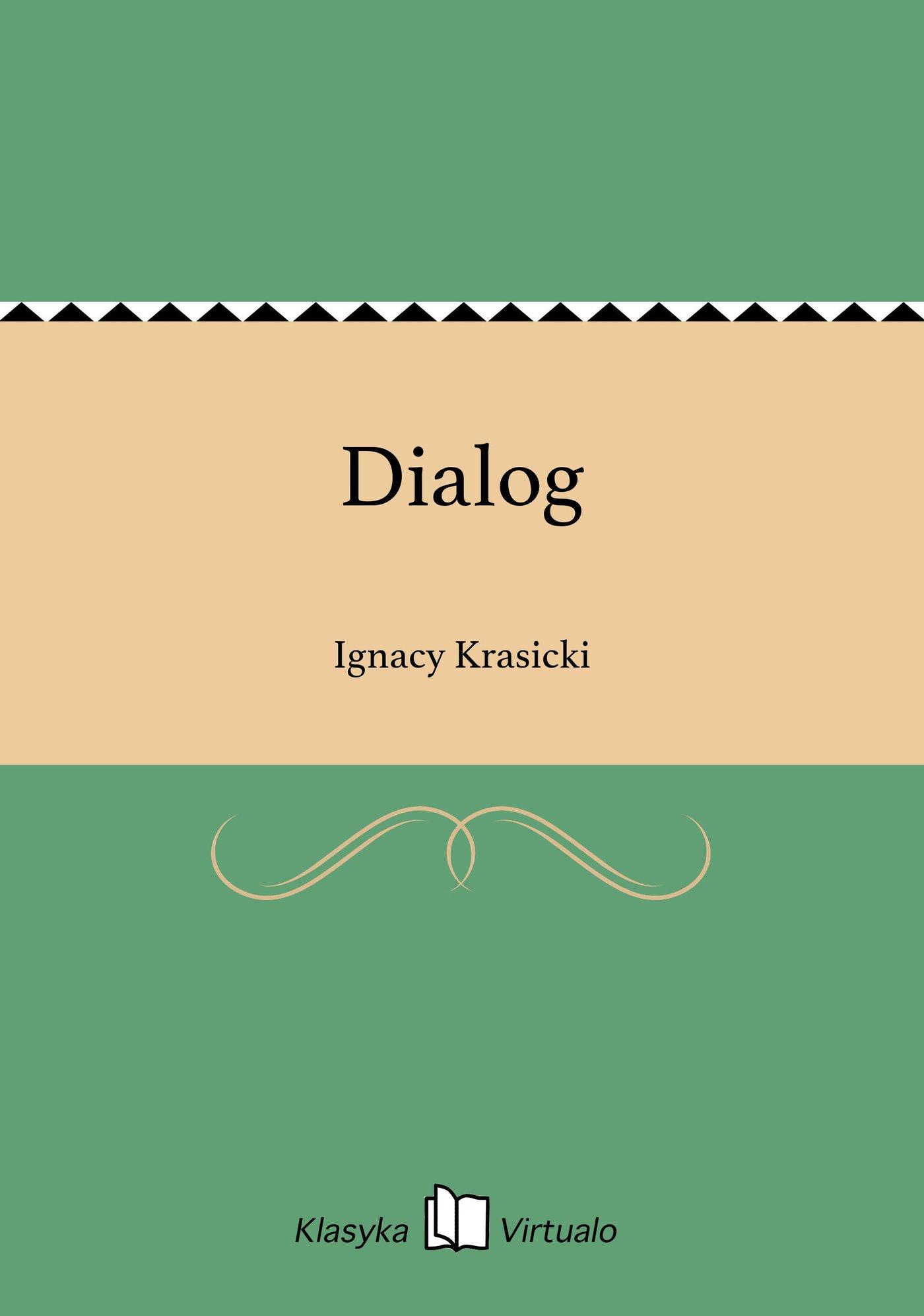 Dialog - Ebook (Książka EPUB) do pobrania w formacie EPUB