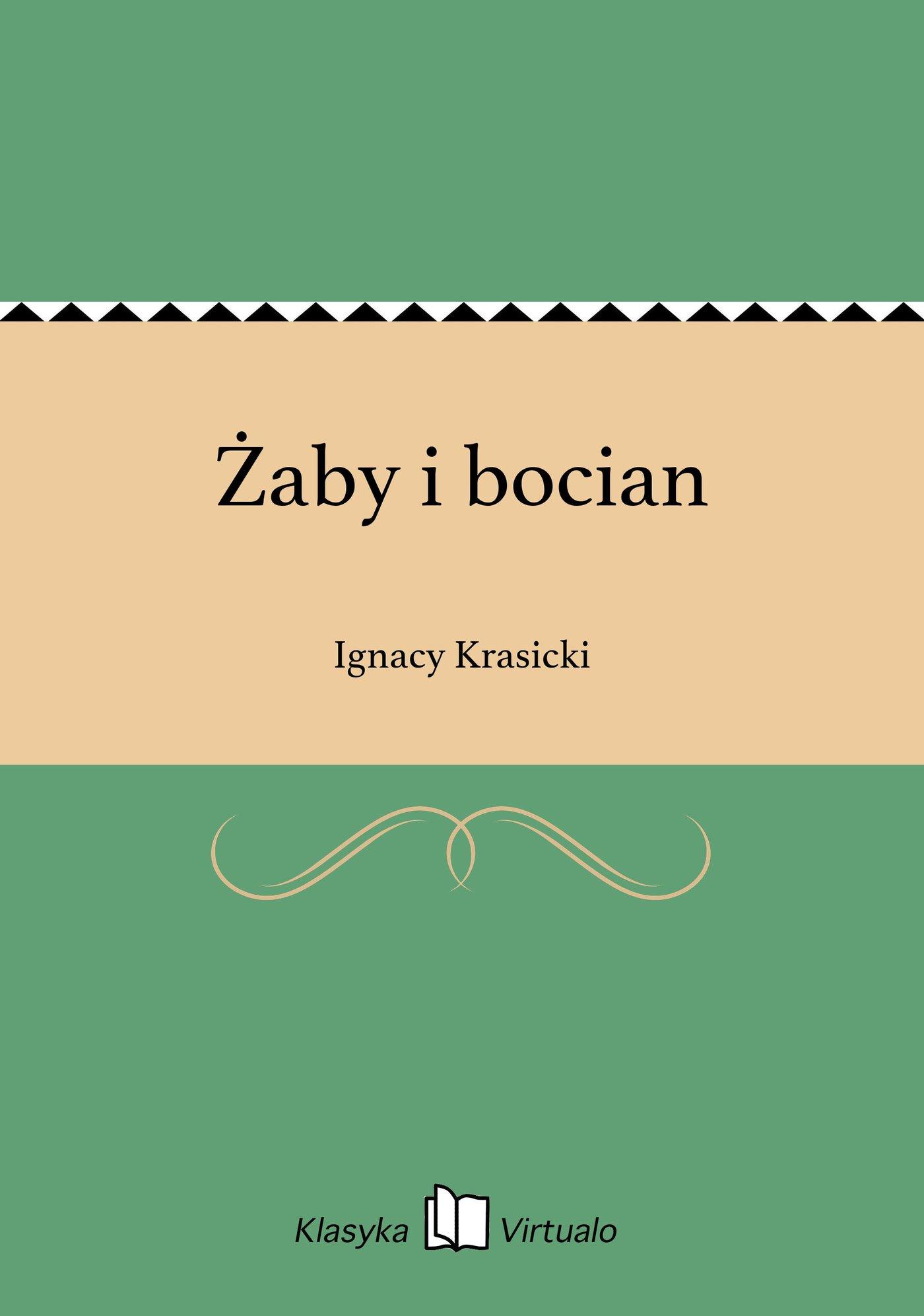 Żaby i bocian - Ebook (Książka EPUB) do pobrania w formacie EPUB