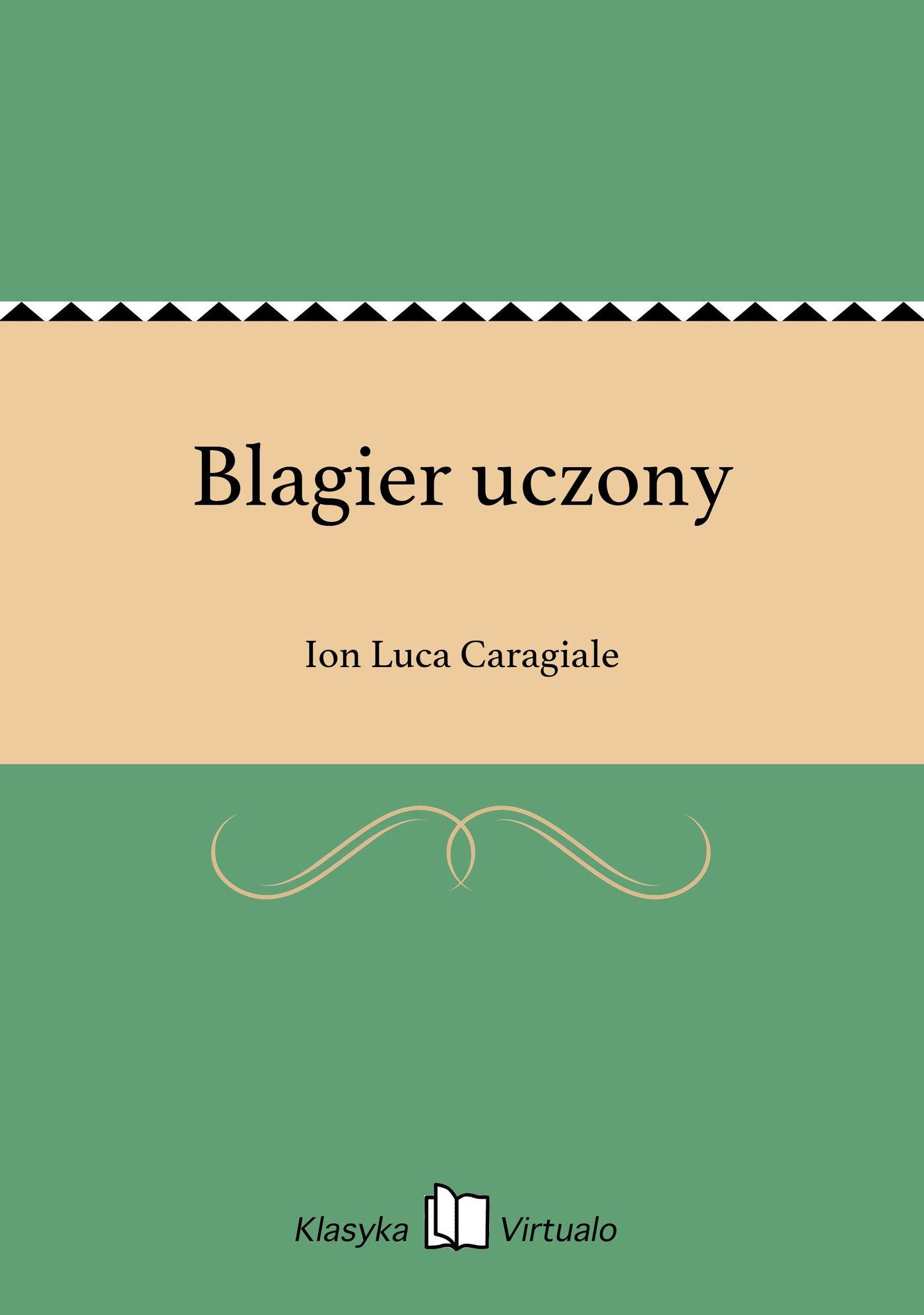 Blagier uczony - Ebook (Książka EPUB) do pobrania w formacie EPUB
