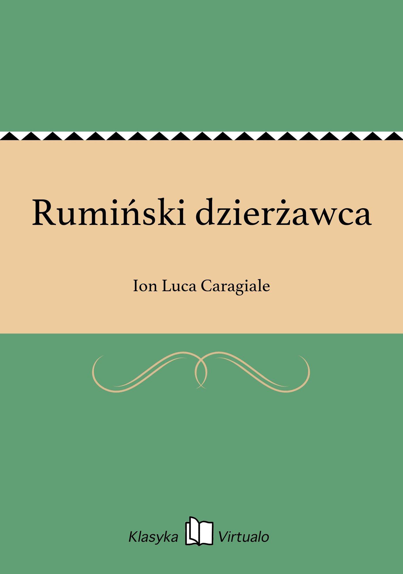 Rumiński dzierżawca - Ebook (Książka EPUB) do pobrania w formacie EPUB