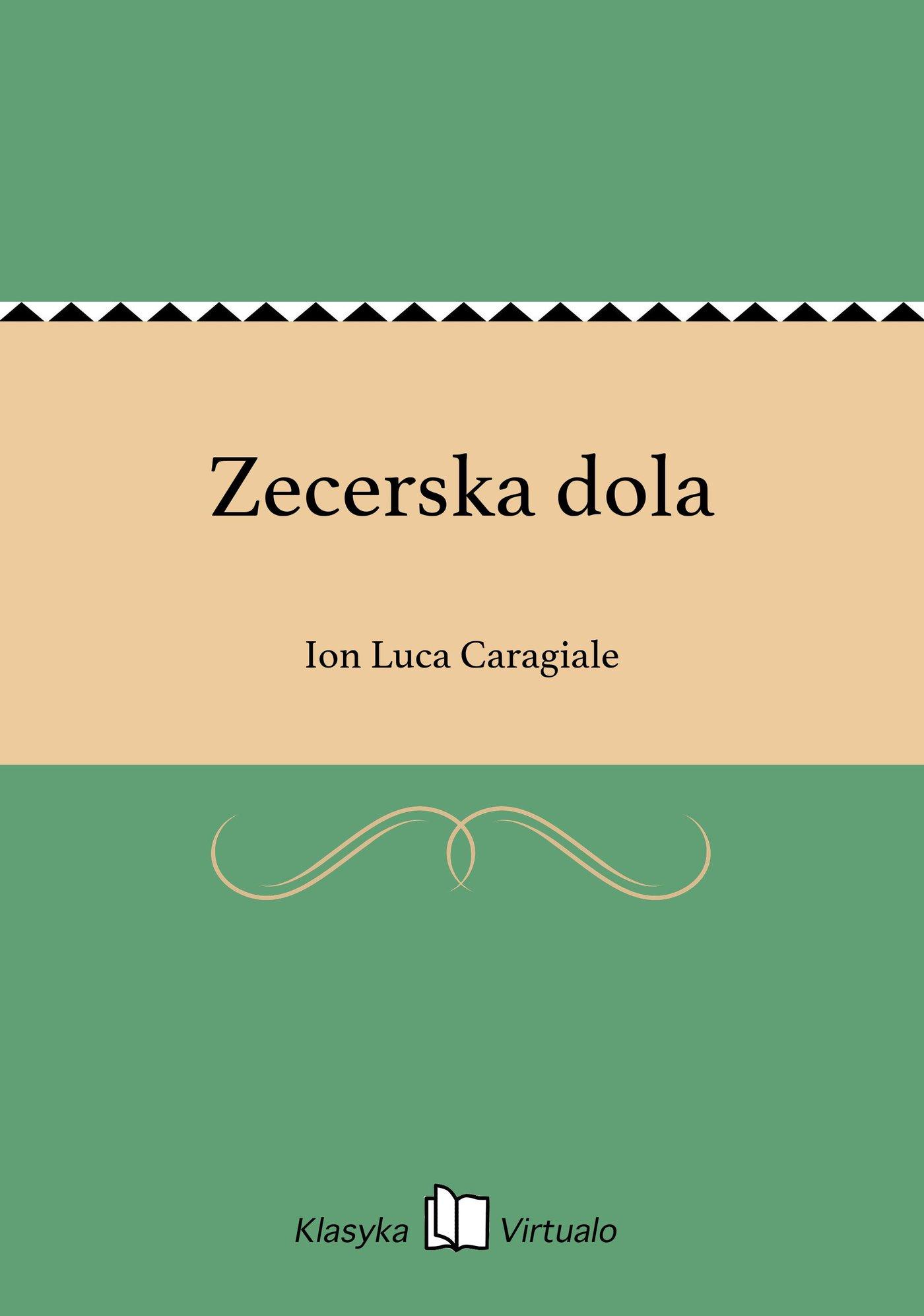 Zecerska dola - Ebook (Książka EPUB) do pobrania w formacie EPUB