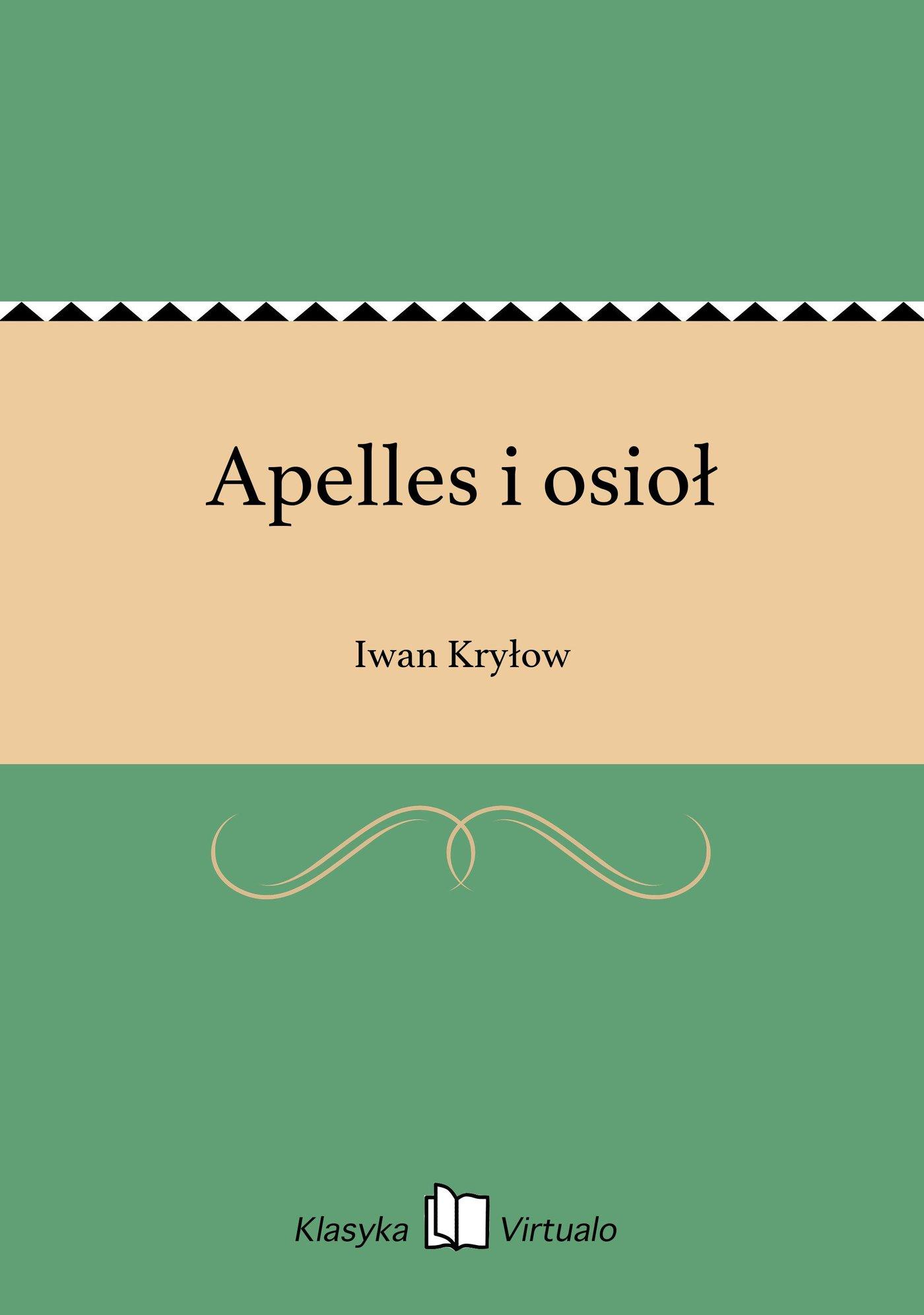 Apelles i osioł - Ebook (Książka EPUB) do pobrania w formacie EPUB
