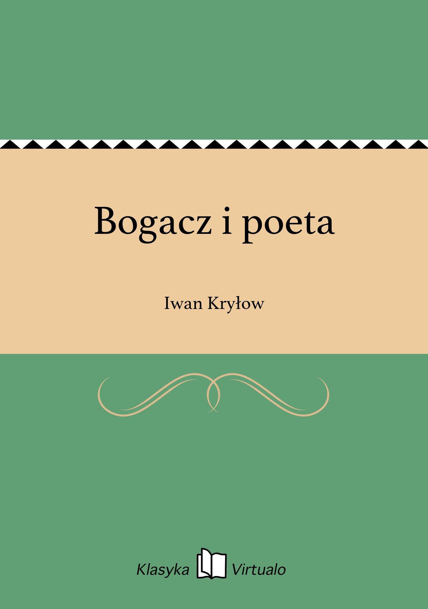 Bogacz i poeta - Ebook (Książka EPUB) do pobrania w formacie EPUB