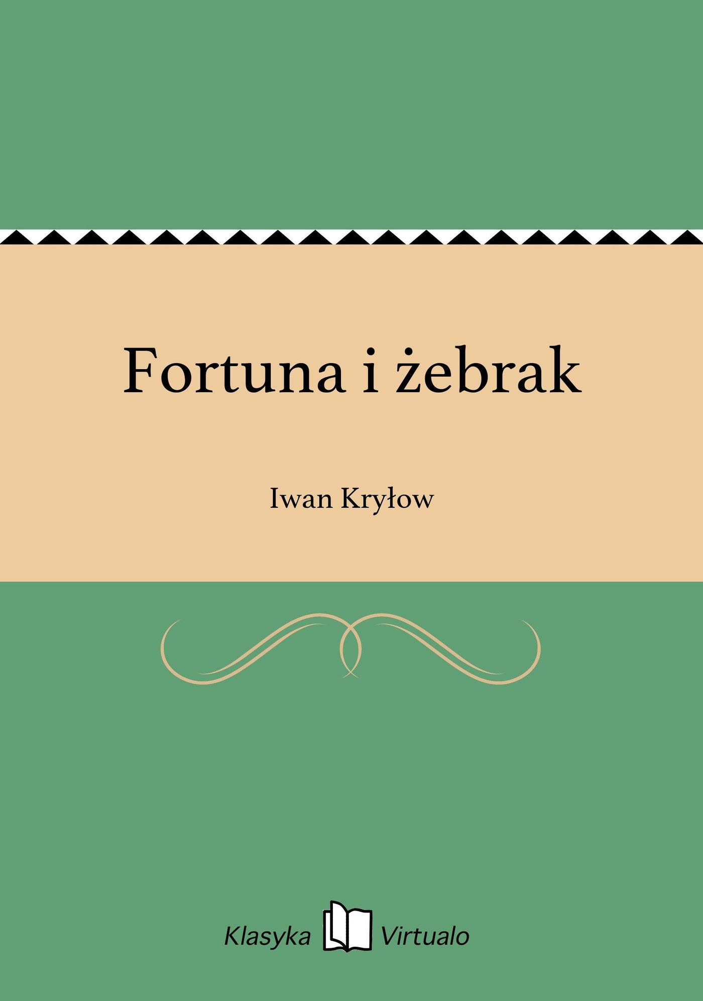 Fortuna i żebrak - Ebook (Książka EPUB) do pobrania w formacie EPUB