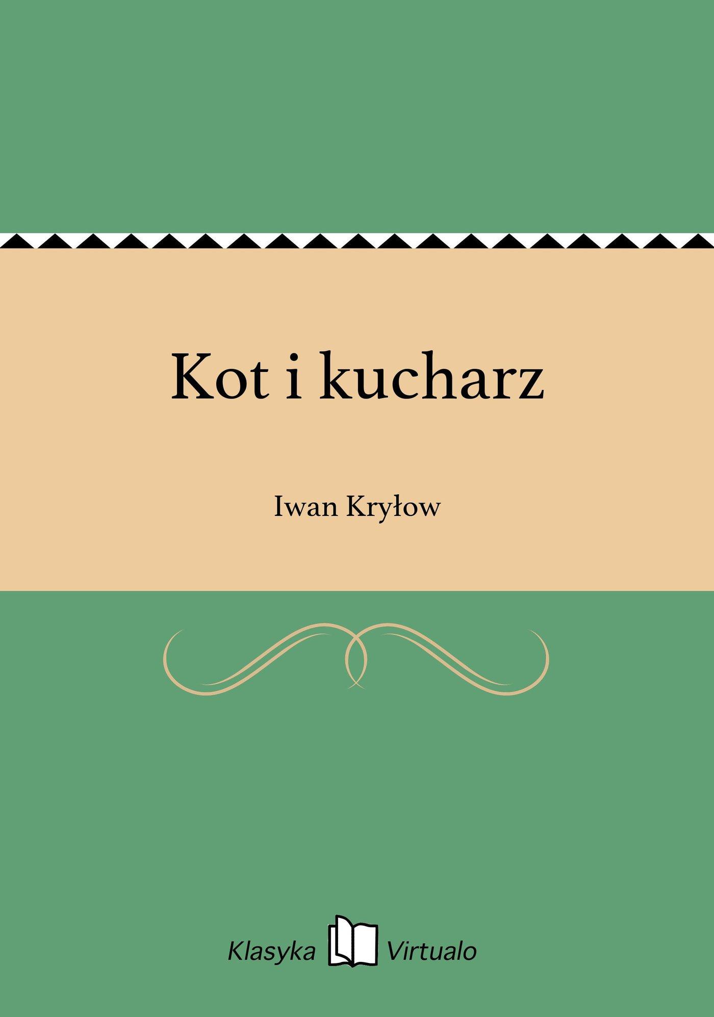 Kot i kucharz - Ebook (Książka EPUB) do pobrania w formacie EPUB