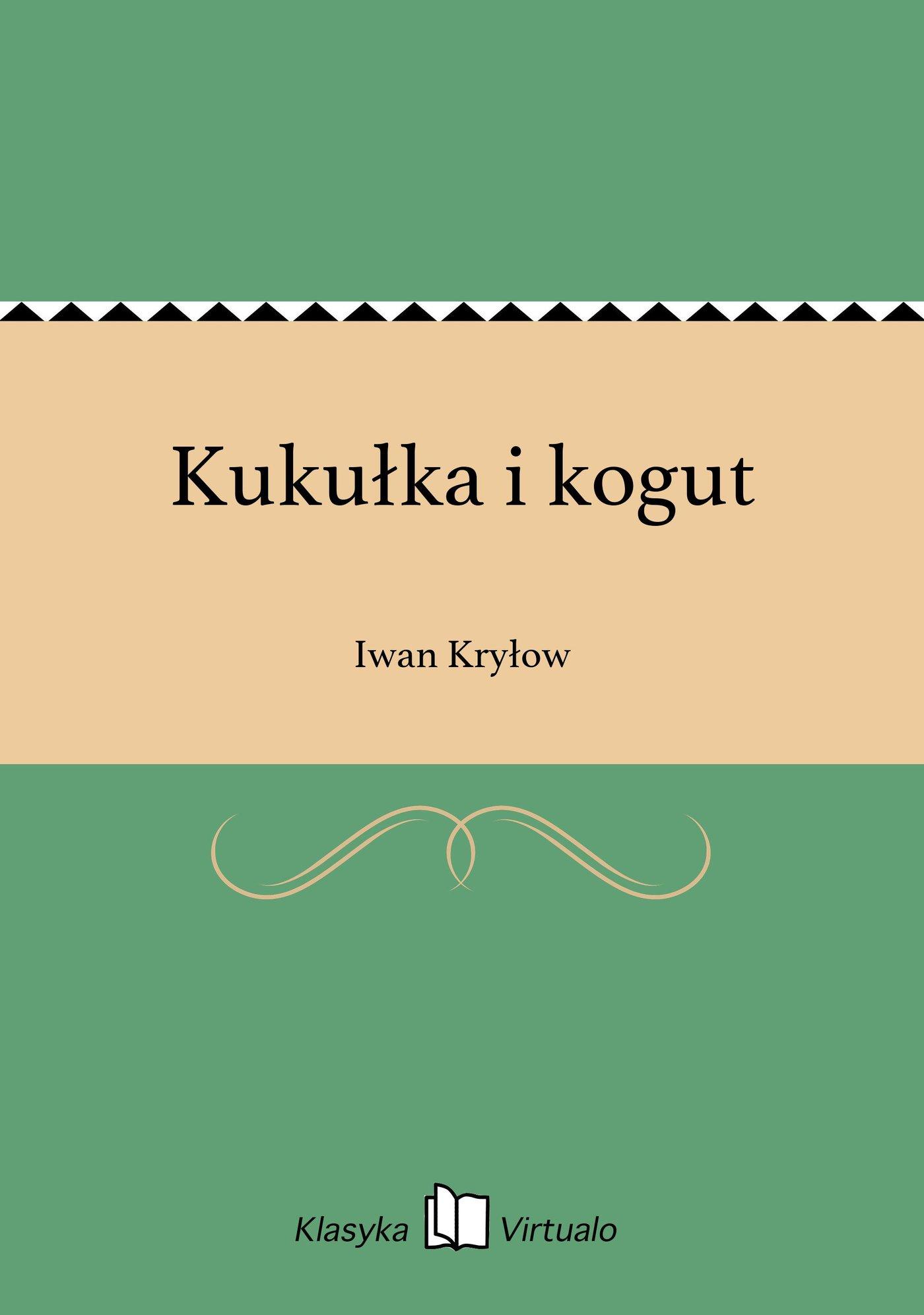 Kukułka i kogut - Ebook (Książka EPUB) do pobrania w formacie EPUB